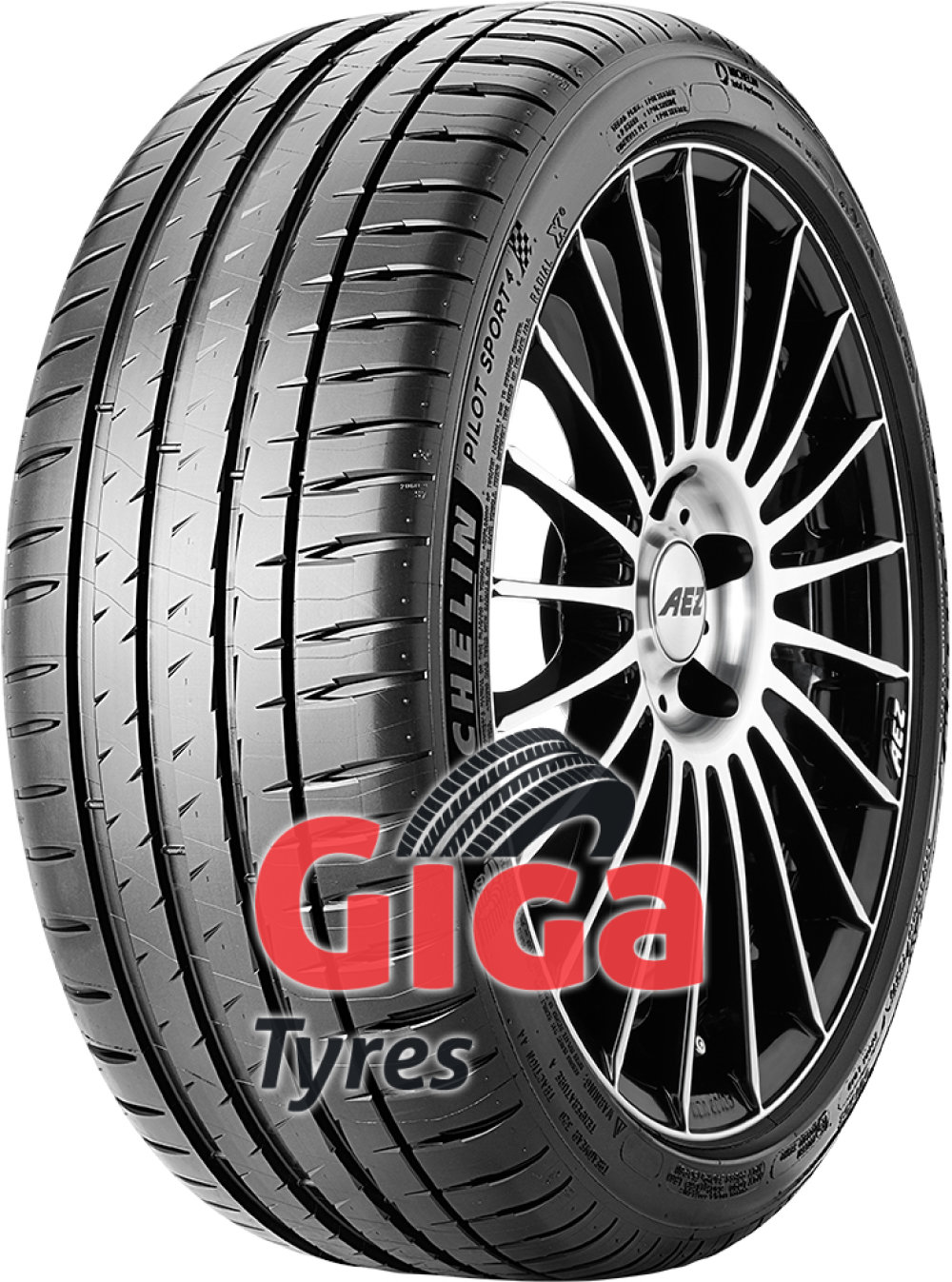 Michelin Pilot Sport 4 ( 265/35 ZR18 (97Y) XL with rim protection ridge (FSL) )
