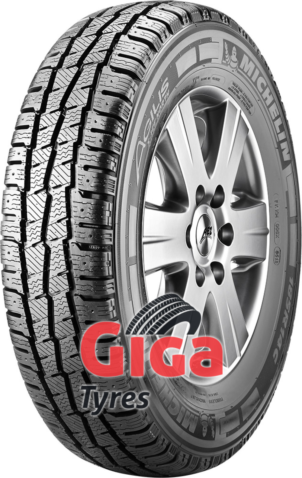 Michelin AGILIS X-ICE NORTH ( 165/70 R14C 89/87R , studdable )