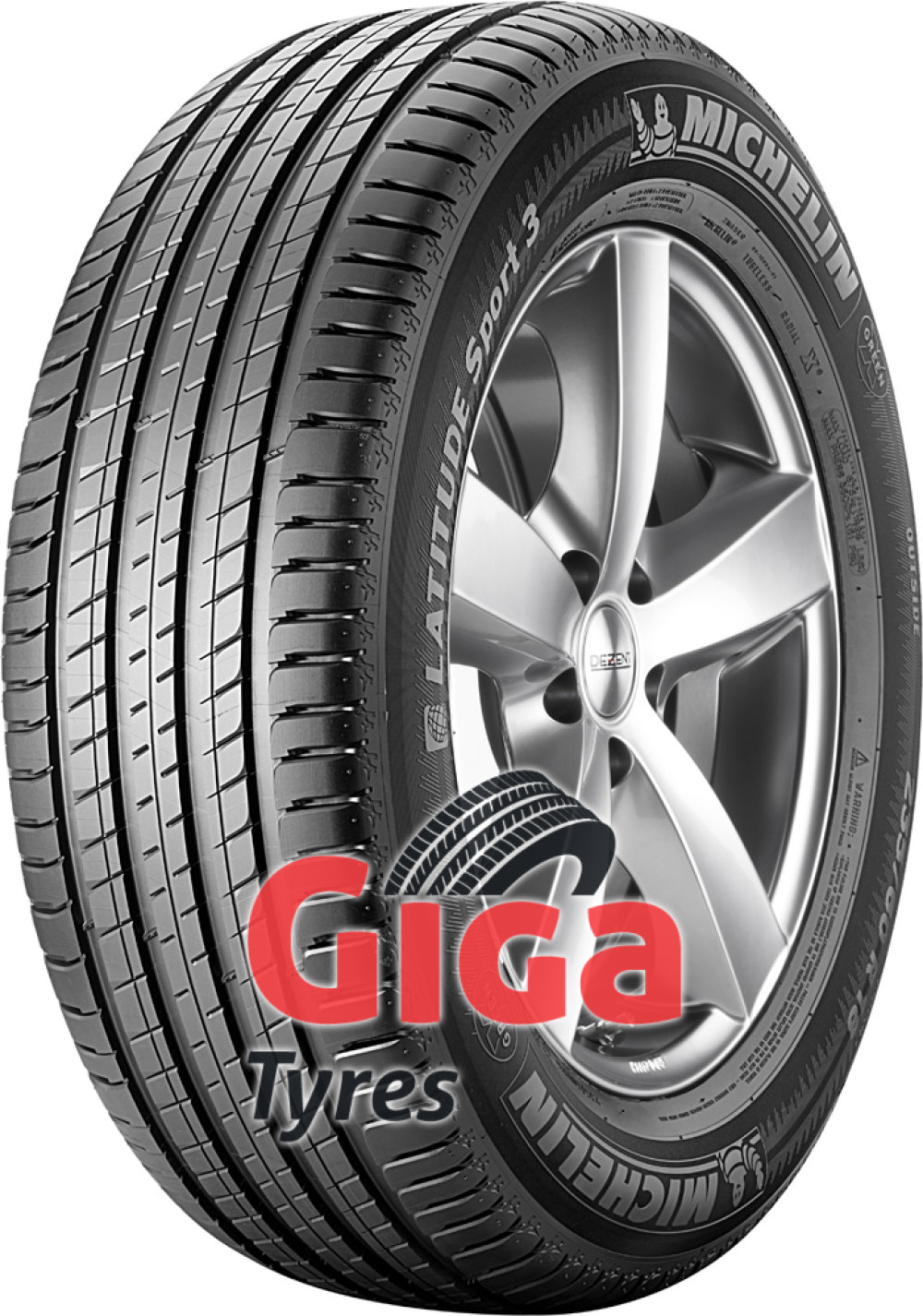 Michelin Latitude Sport 3 ( 225/65 R17 106V XL J, LR )