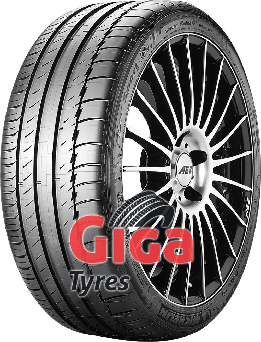 Michelin Pilot Sport PS2 ( 335/35 ZR17 (106Y) with rim protection ridge (FSL) )