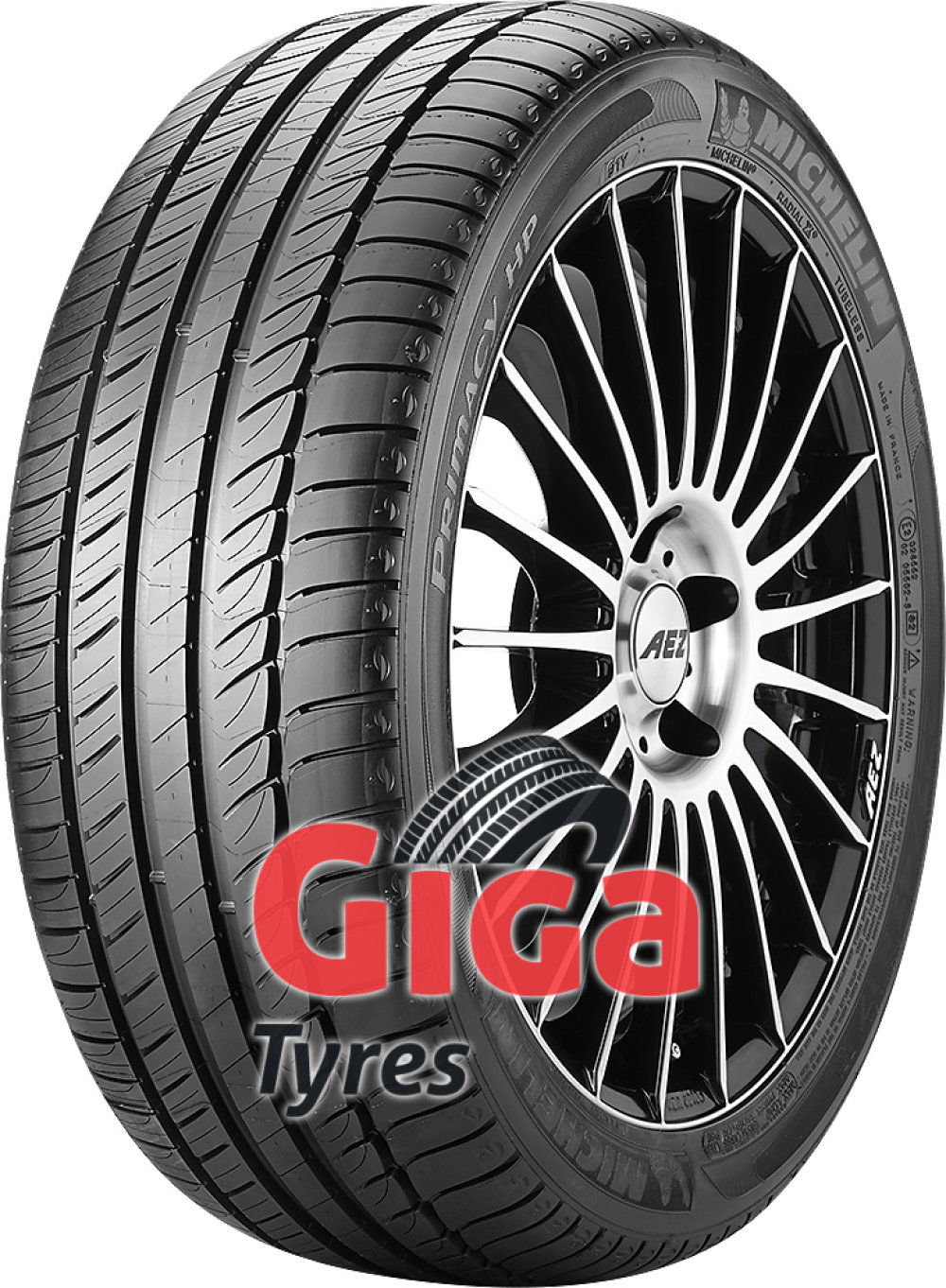 Michelin Primacy HP ( 225/50 R17 94H with rim protection ridge (FSL), *, GRNX )