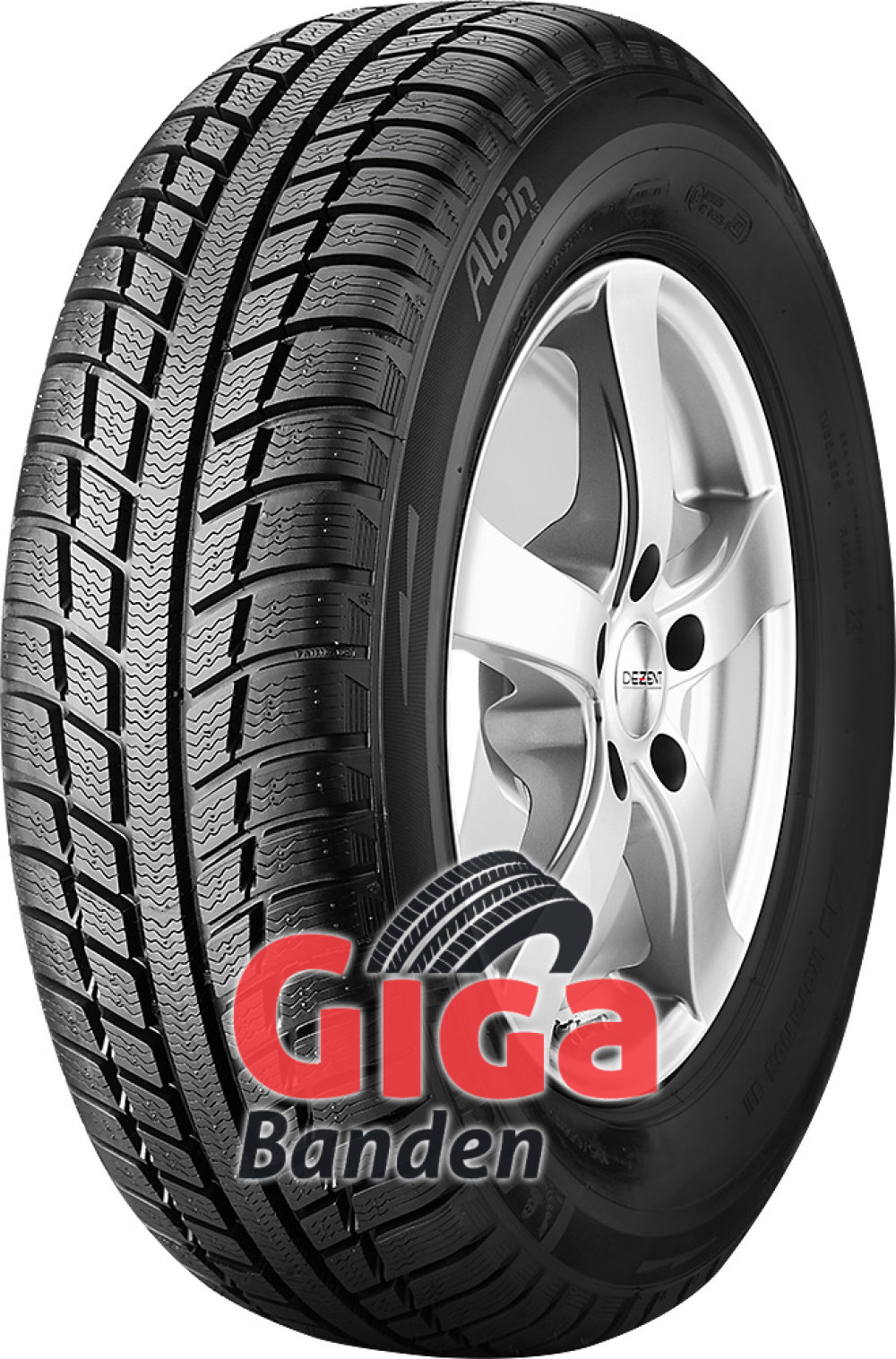 Michelin Alpin A3 ( 165/70 R13 83T XL GRNX )
