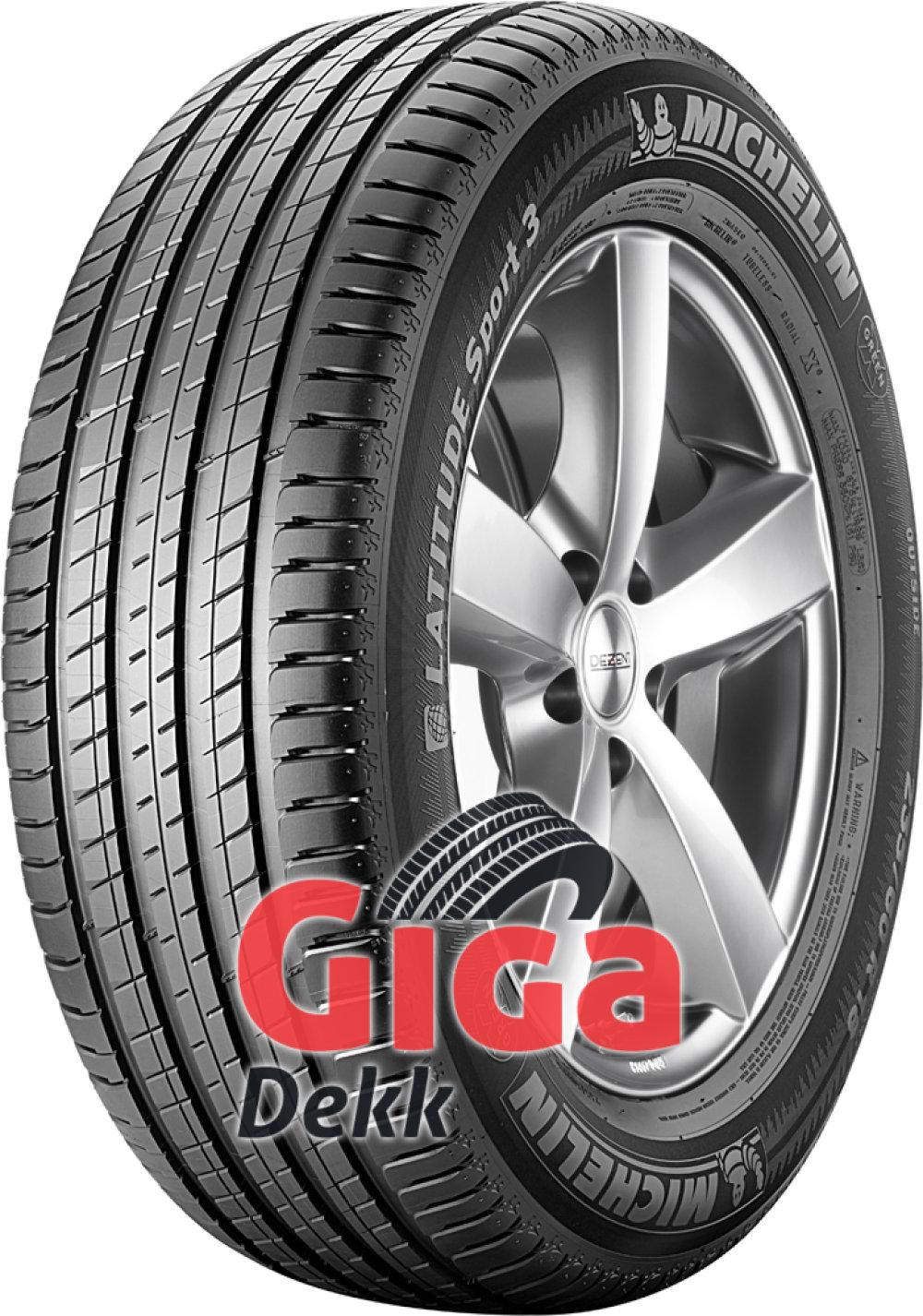 Michelin Latitude Sport 3 ( 255/55 R18 109Y XL med felgbeskyttelseslist (FSL) )