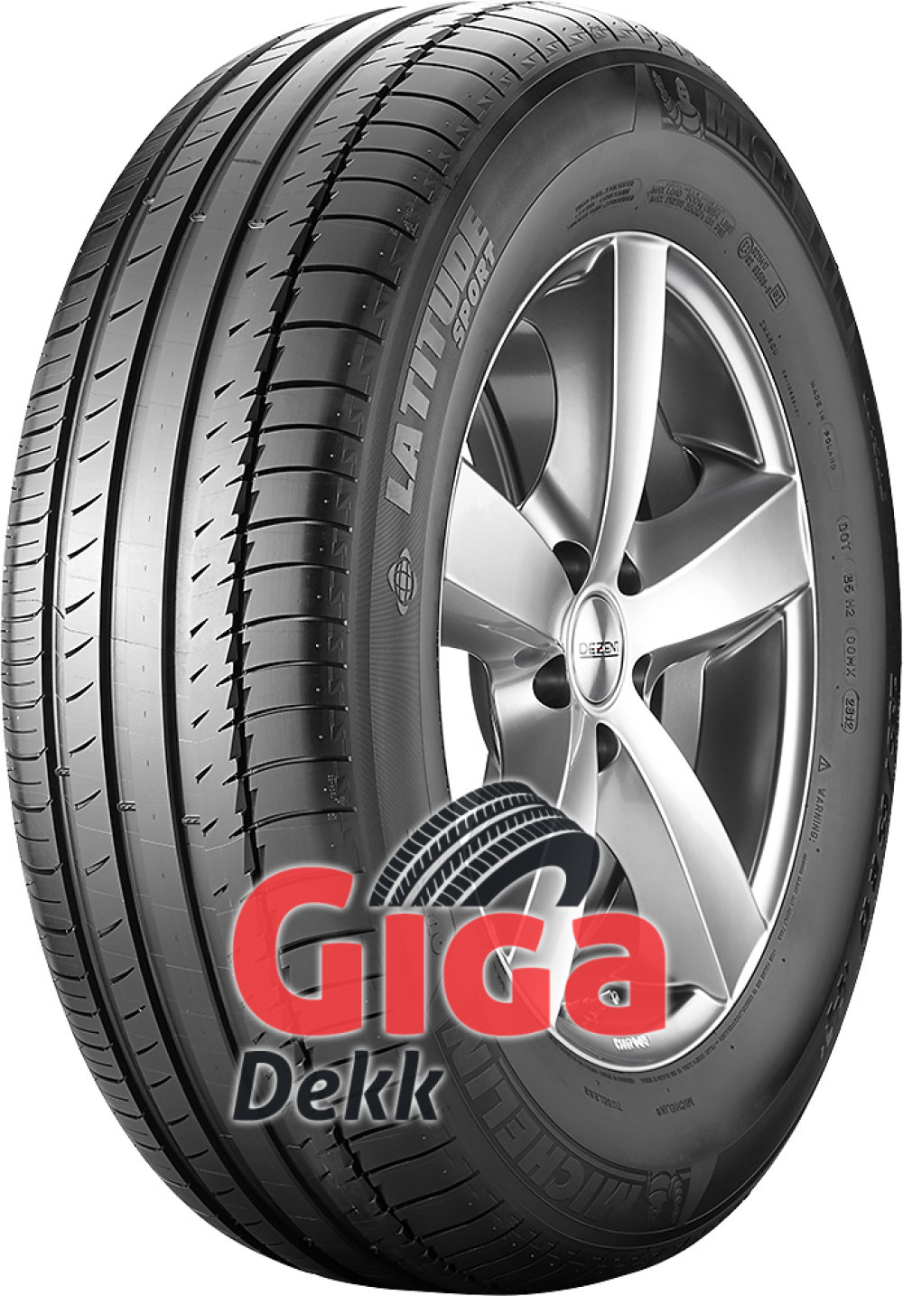 Michelin Latitude Sport ( 245/45 R20 99V med felgbeskyttelseslist (FSL) )