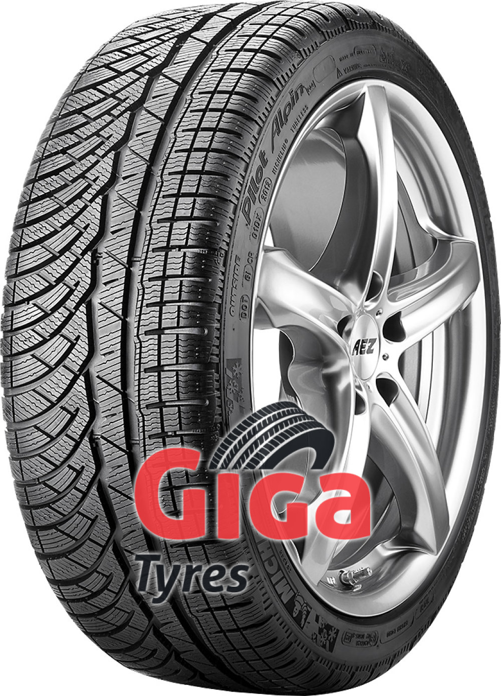Michelin Pilot Alpin PA4 ( 235/55 R17 103V XL , with rim protection ridge (FSL) )