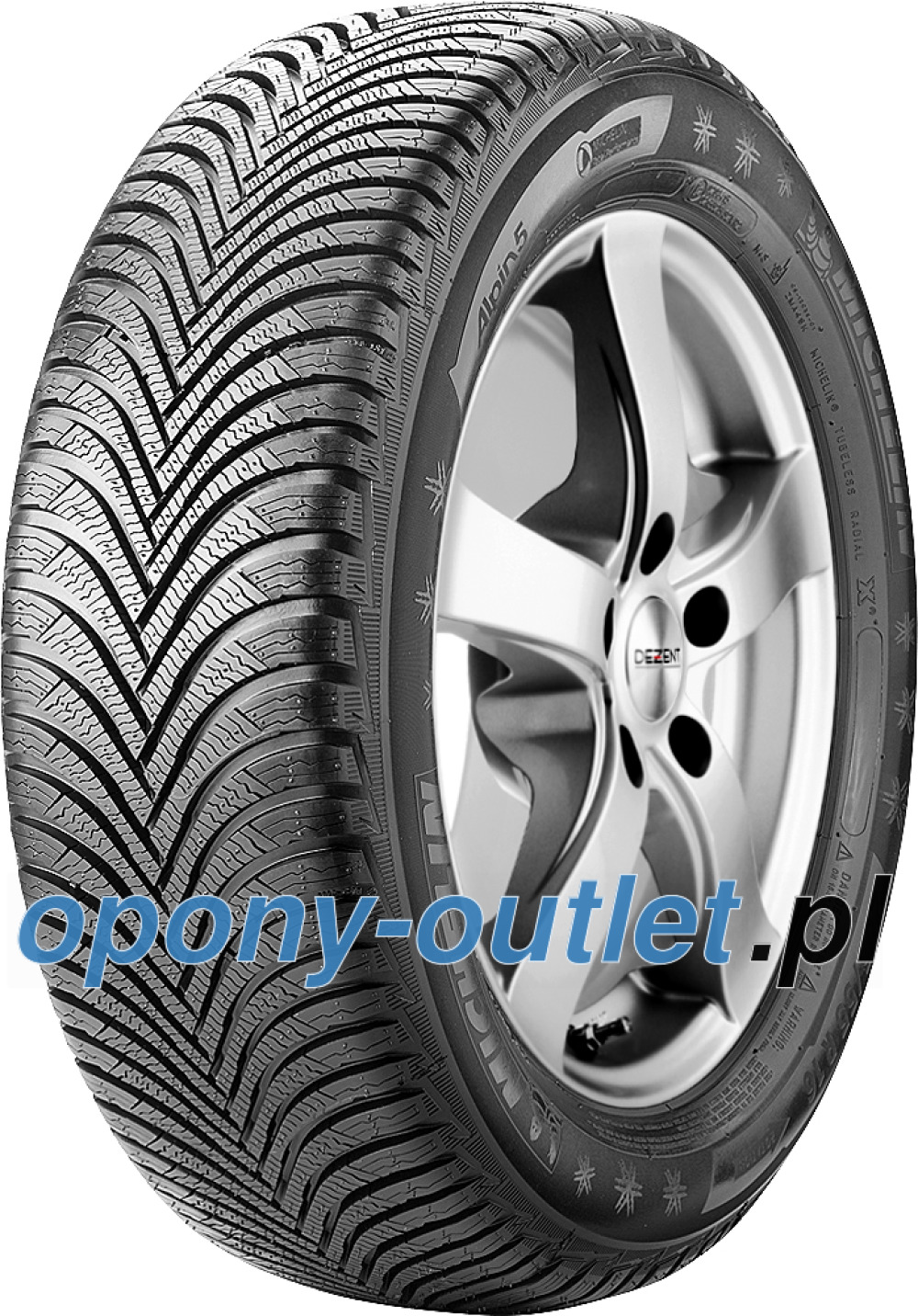 Michelin Alpin 5 ( 195/65 R15 91H G1 )