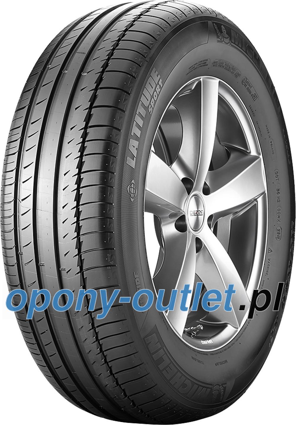Michelin Latitude Sport ( 275/50 R20 109W MO, z listwą ochraniającą felgę (FSL) )