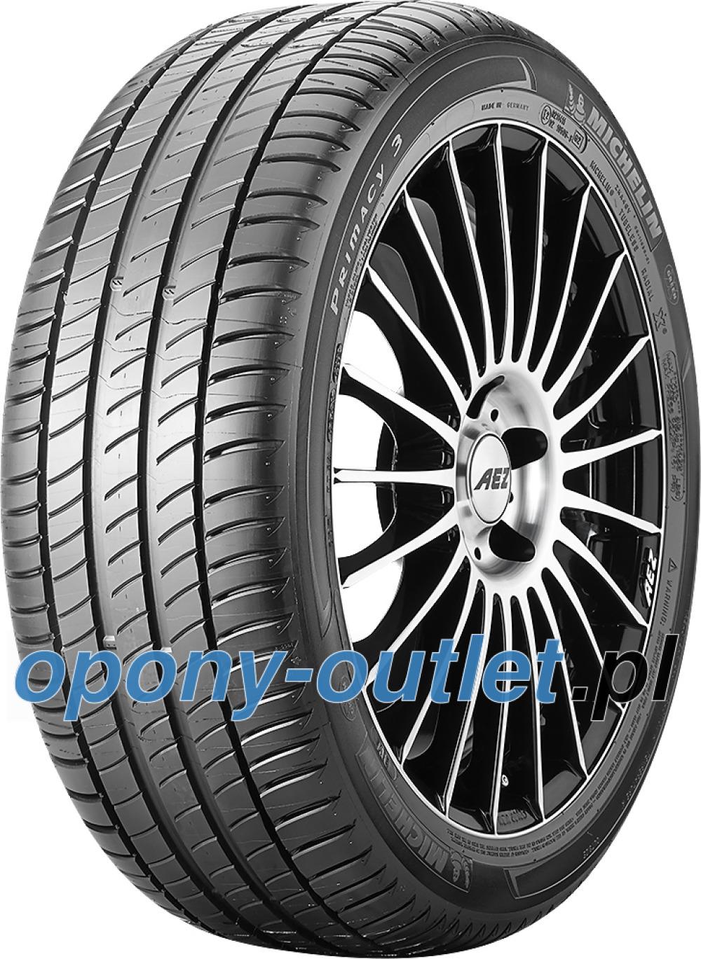 Michelin Primacy 3 ZP ( 205/55 R16 91H runflat, z listwą ochraniającą felgę (FSL) )