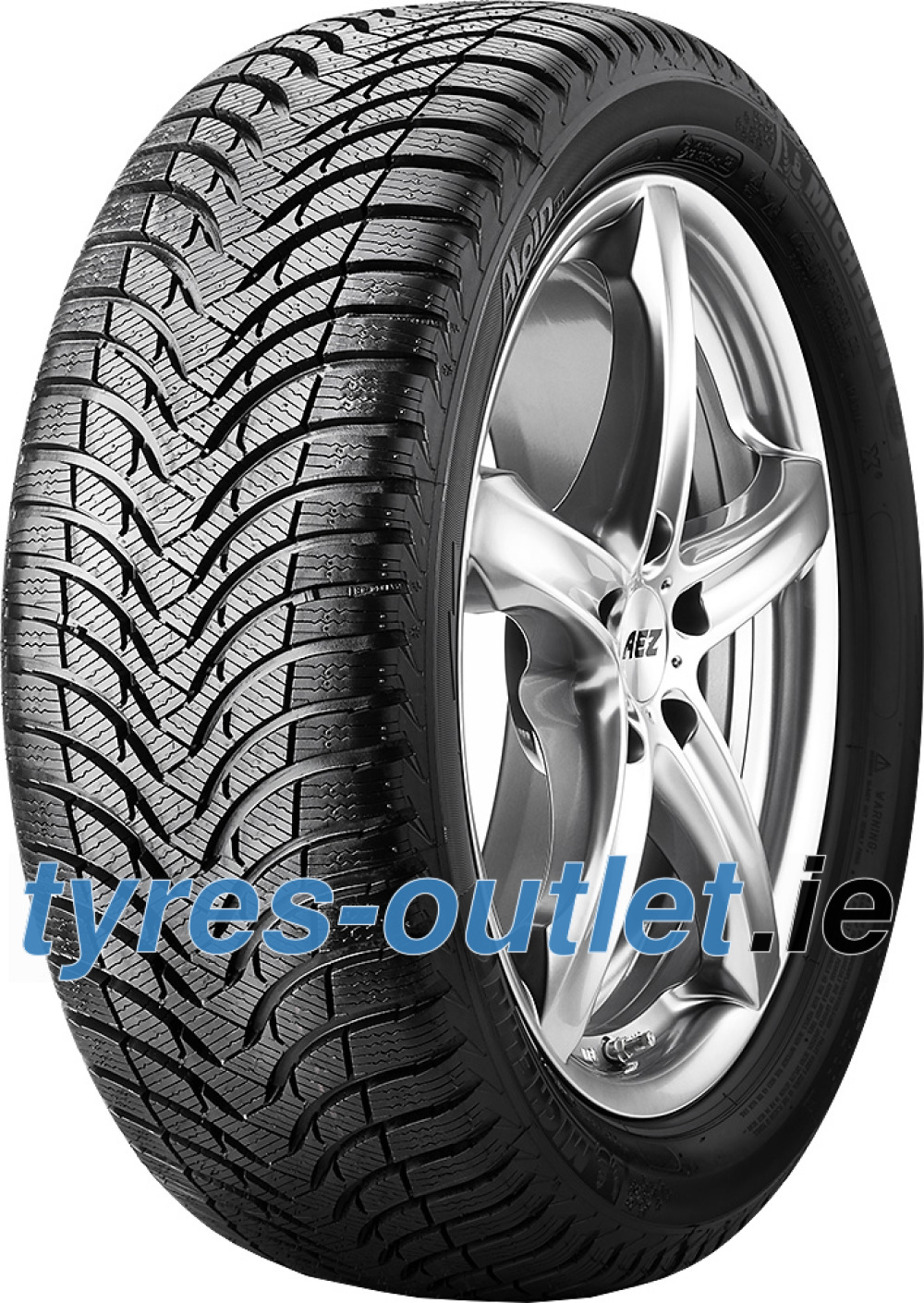 Michelin Alpin A4 ( 195/60 R15 88H , GRNX )