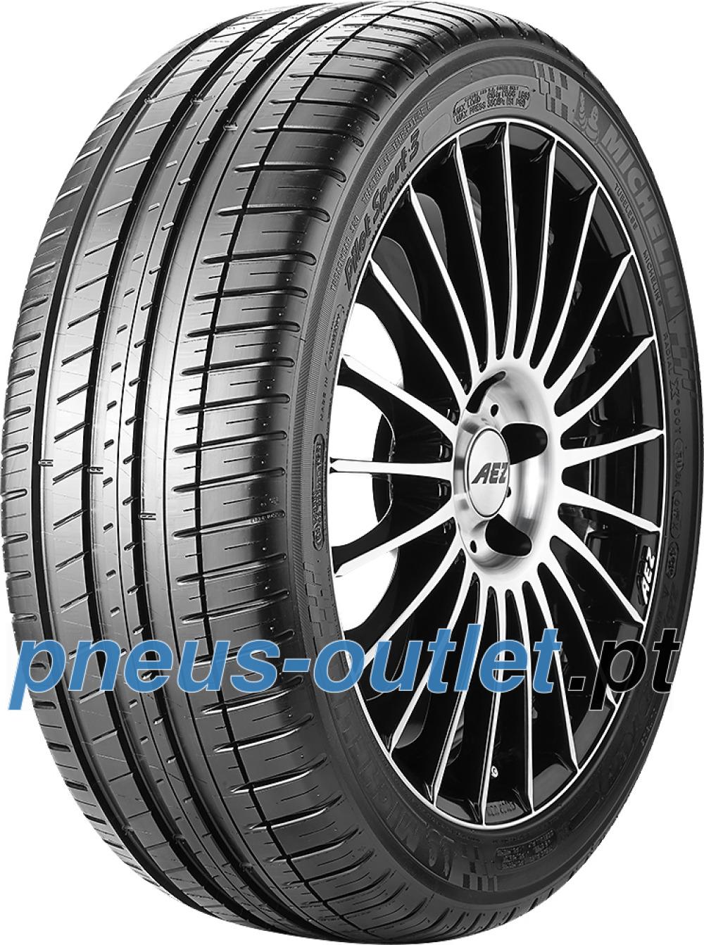 Michelin Pilot Sport 3 ( 255/40 ZR18 (99Y) XL MO1, GRNX, com protecção da jante e estrias (FSL) )