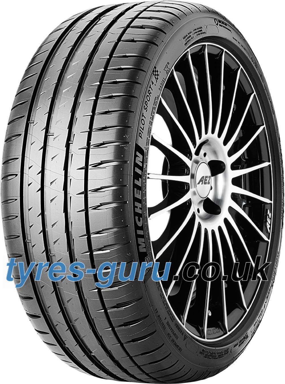 Michelin Pilot Sport >> Michelin Pilot Sport 4 235 40 Zr18 95y Xl Dt1 Tyres Guru Co Uk