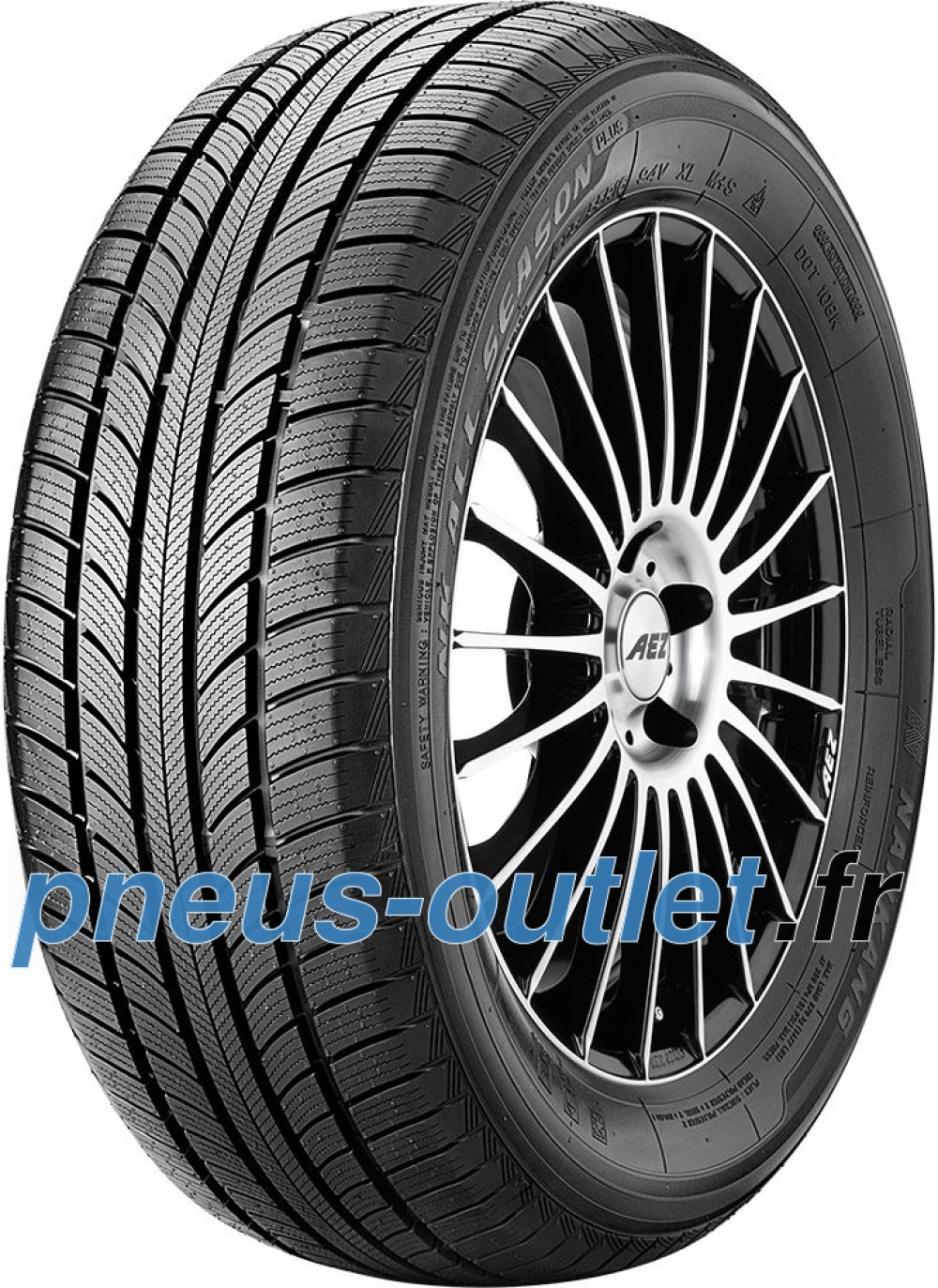 Nankang All Season Plus N-607+ ( 185/65 R14 86H )