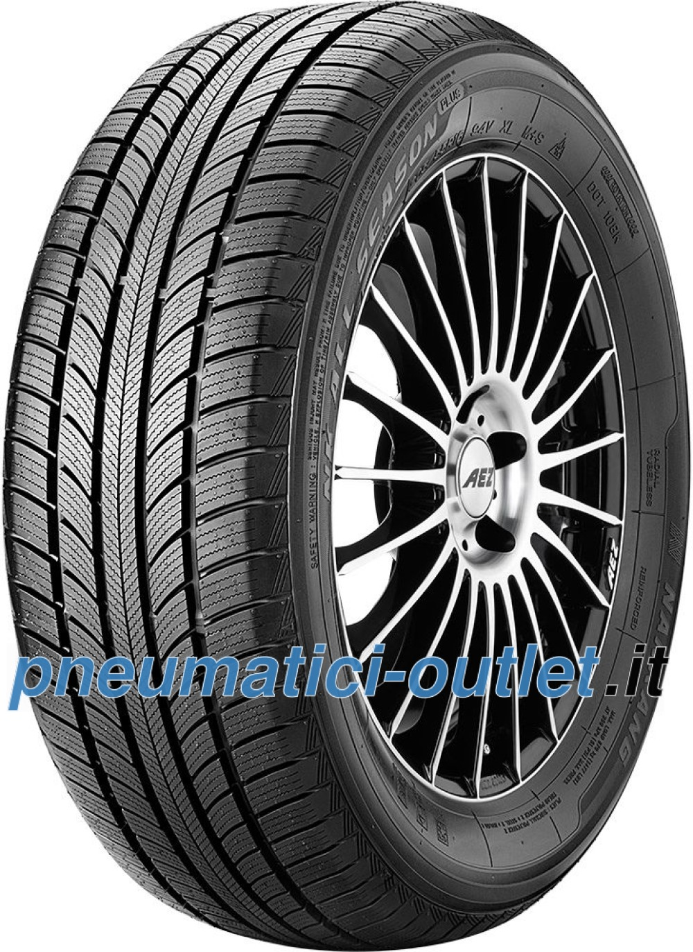 Nankang All Season Plus N-607+ ( 235/55 R17 99V )