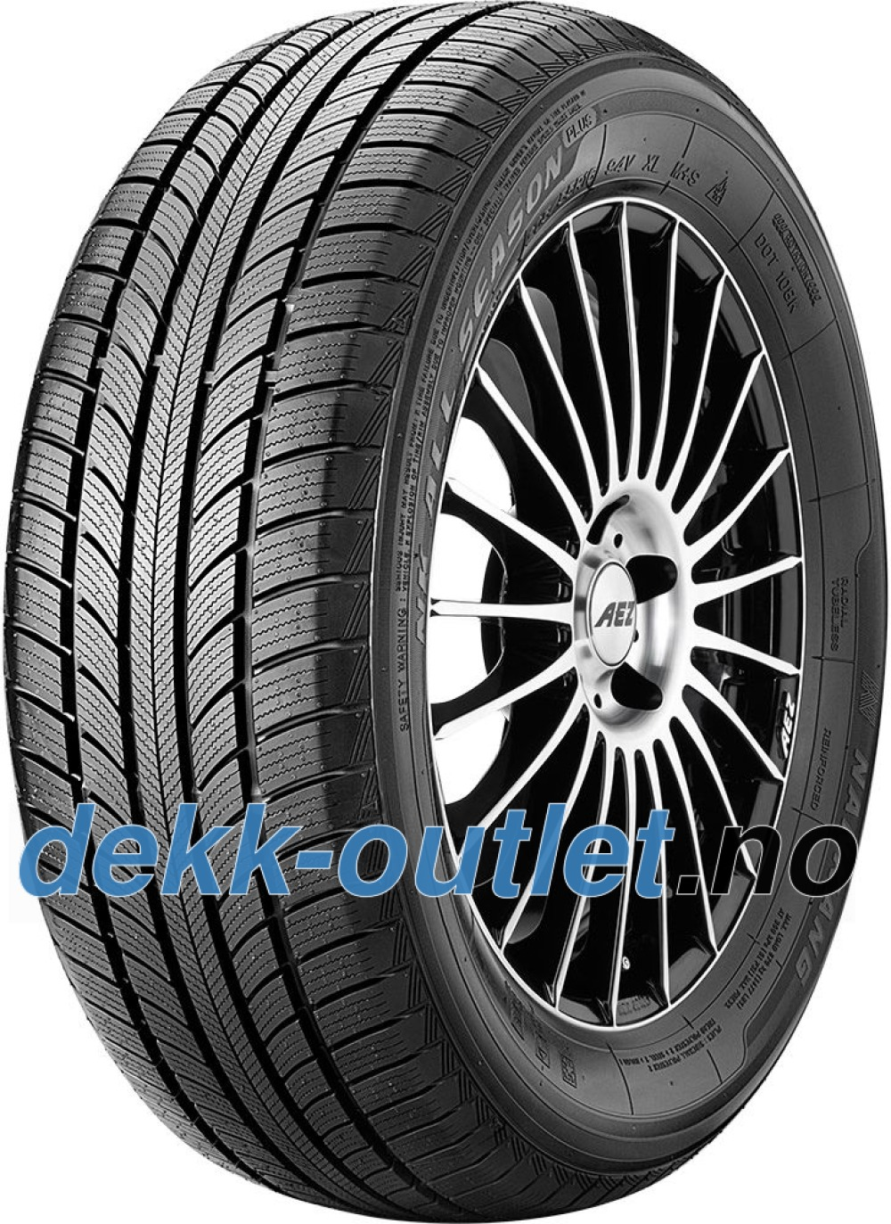 Nankang All Season Plus N-607+ ( 195/55 R16 91V XL )