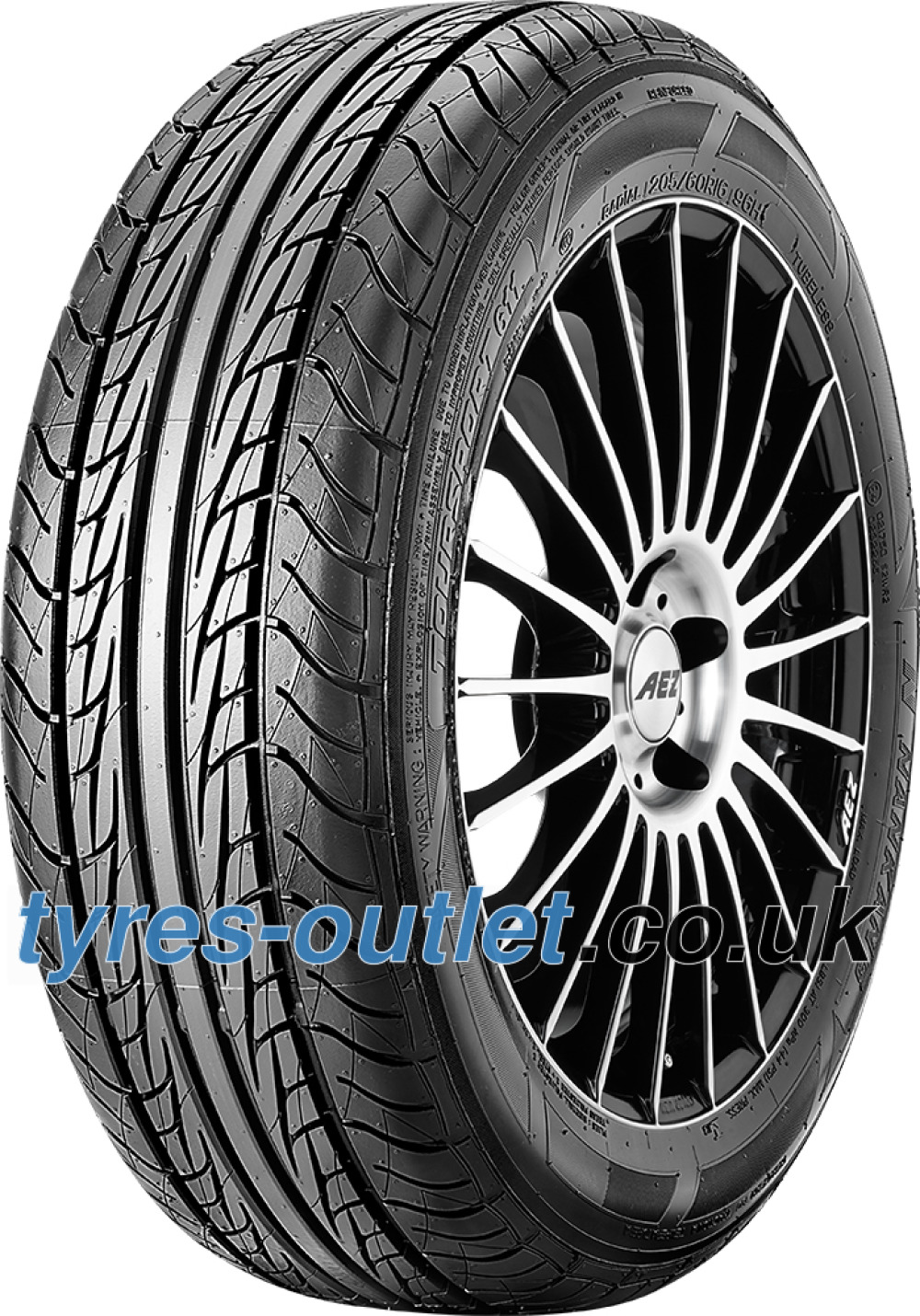 Nankang Toursport XR611 ( 215/65 R15 96H with rim protection (MFS) )