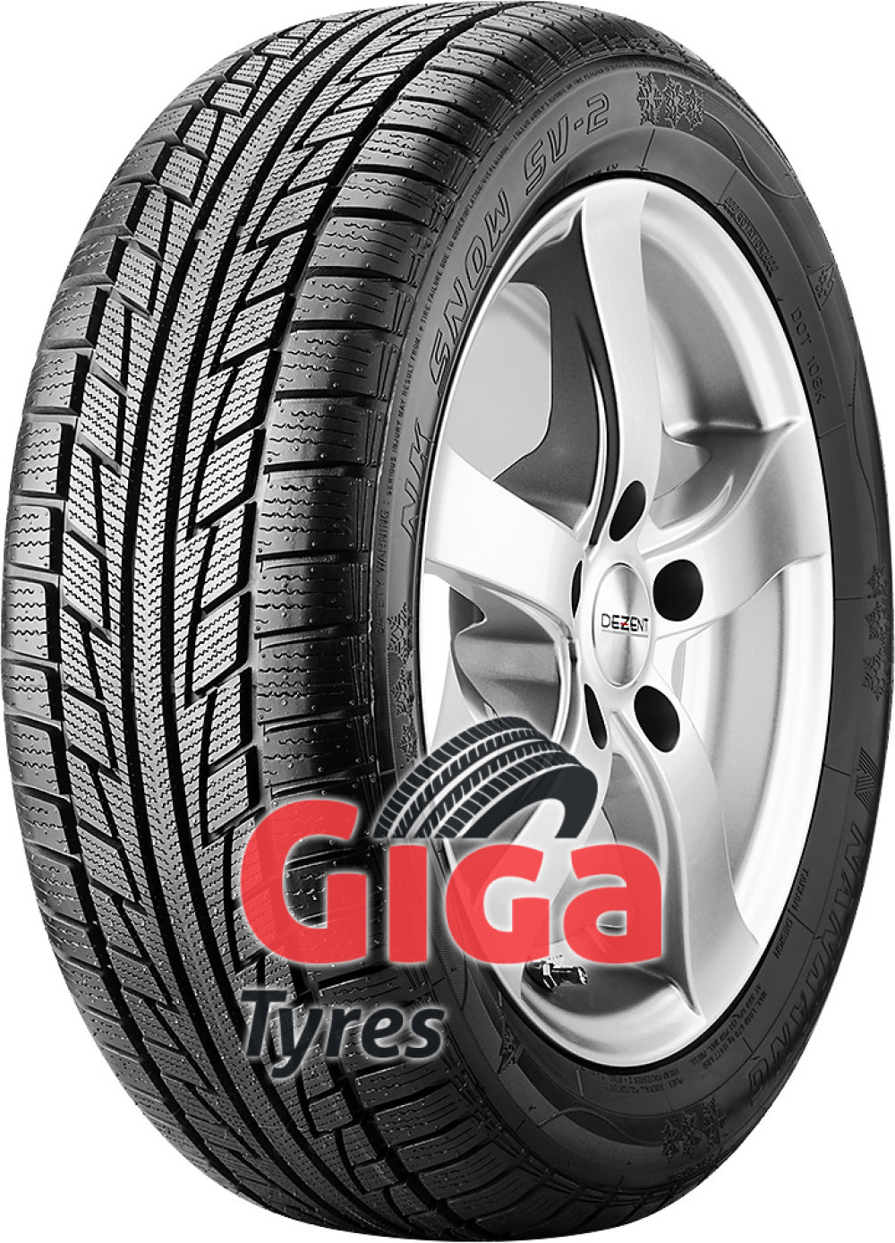 Nankang Snow SV-2 ( 195/60 R16 89T , with rim protection (MFS) )