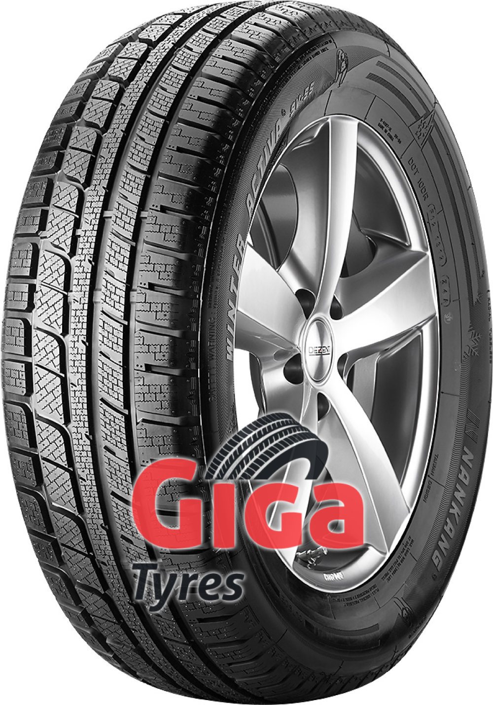Nankang Winter Activa SV-55 ( 275/45 R20 110V XL , with rim protection (MFS) )