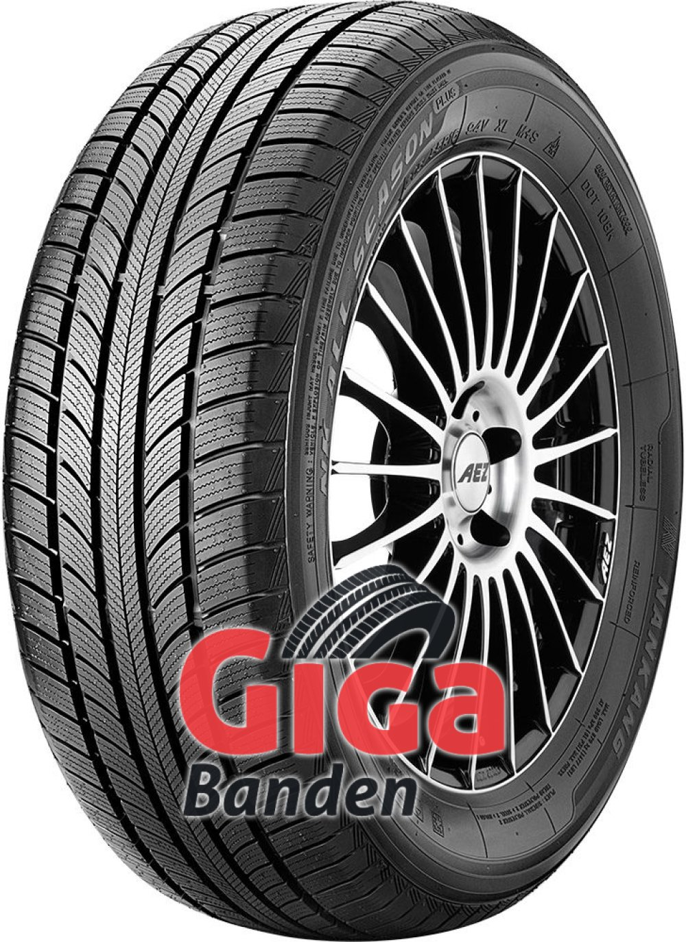 Nankang All Season Plus N-607+ ( 185/55 R15 86H XL )