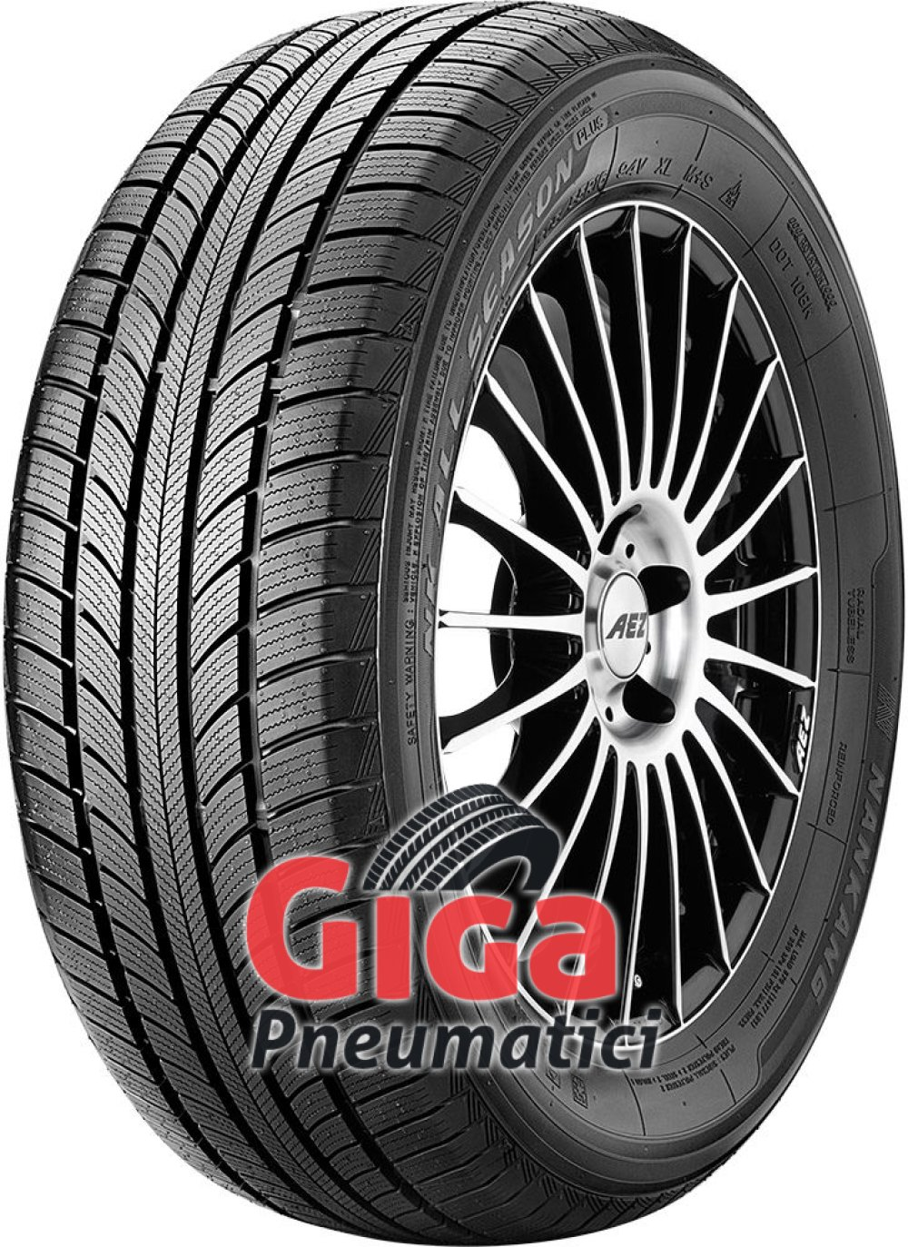 Nankang All Season Plus N-607+ ( 185/70 R14 88T )