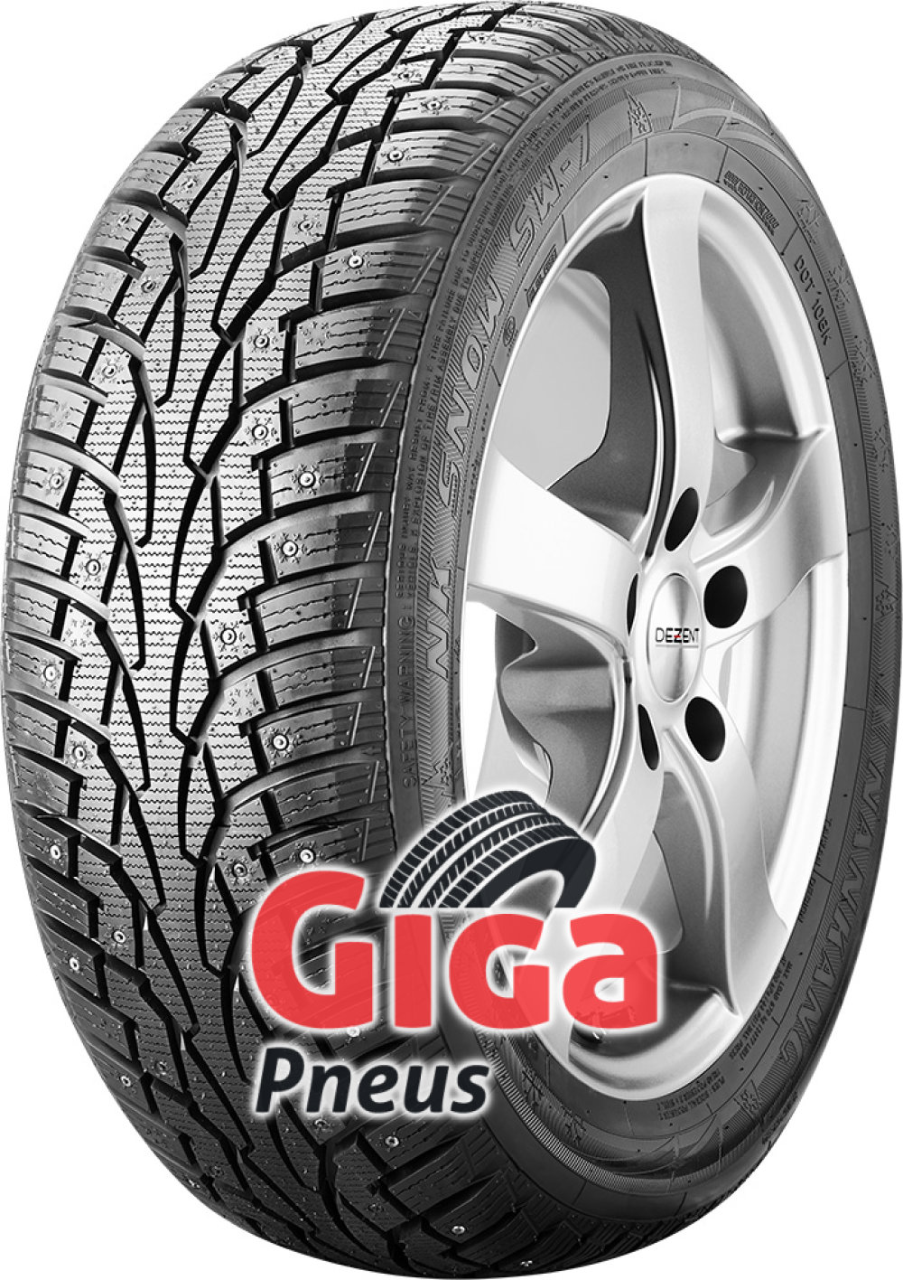 Nankang SNOW SW-7 ( 165/80 R13 83T , Cloutable )