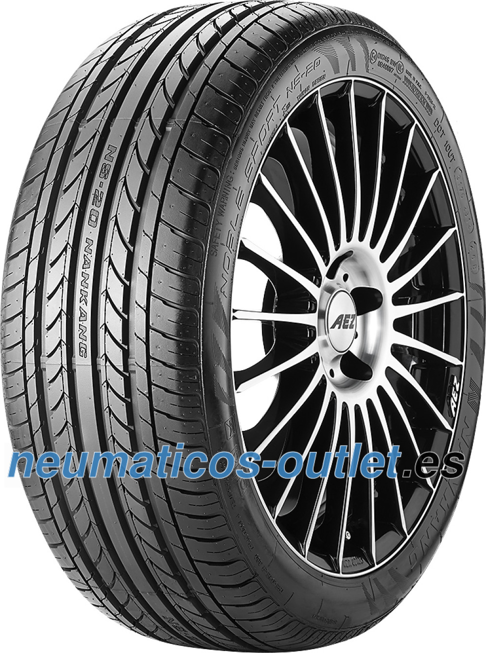 Nankang Noble Sport NS-20 ( 235/35 ZR20 92W XL con protector de llanta (MFS) )