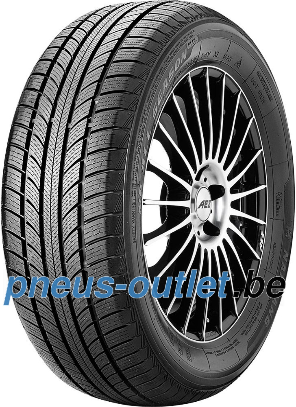 Nankang All Season Plus N-607+ ( 195/55 R16 87H )