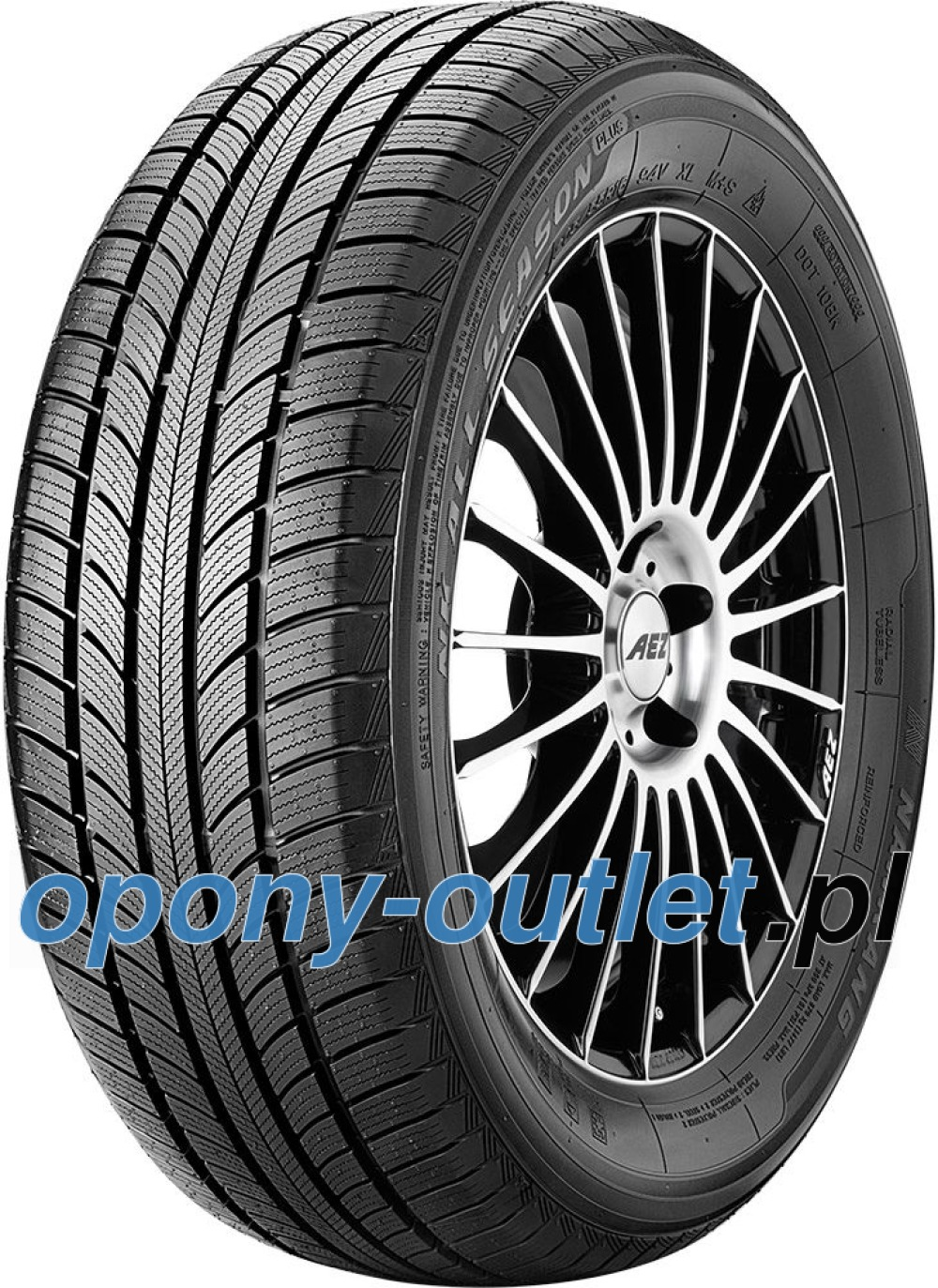 Nankang All Season Plus N-607+ ( 195/55 R16 91H XL )