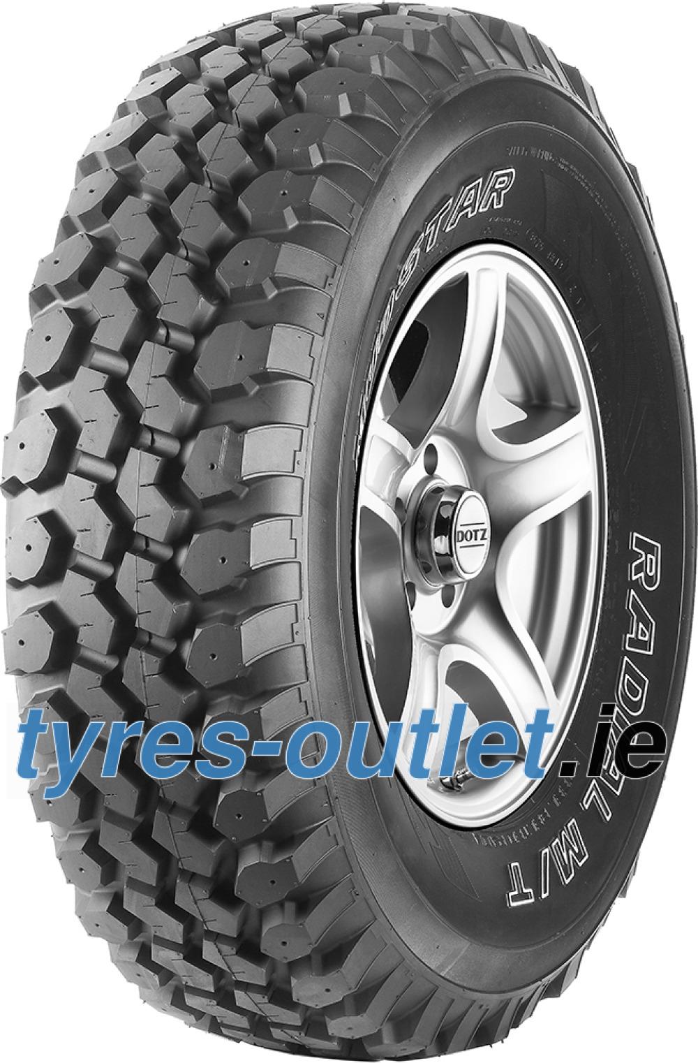 Nankang N889 M//T Mudstar All-Season Radial Tire 235//75R15 104Q