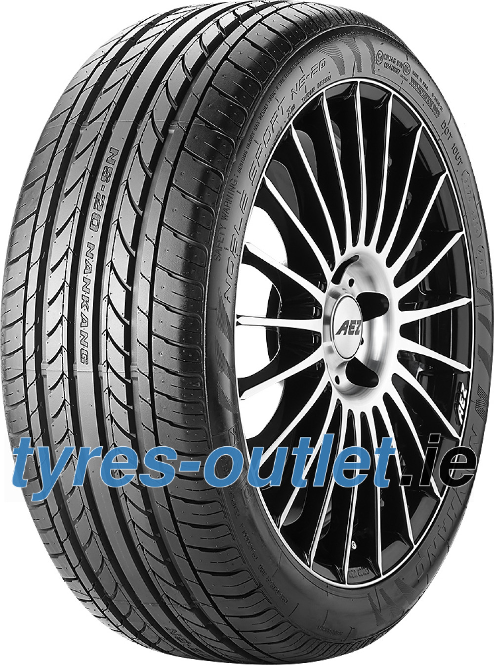Nankang Noble Sport NS-20 ( 255/30 ZR20 92Y XL with rim protection (MFS) )