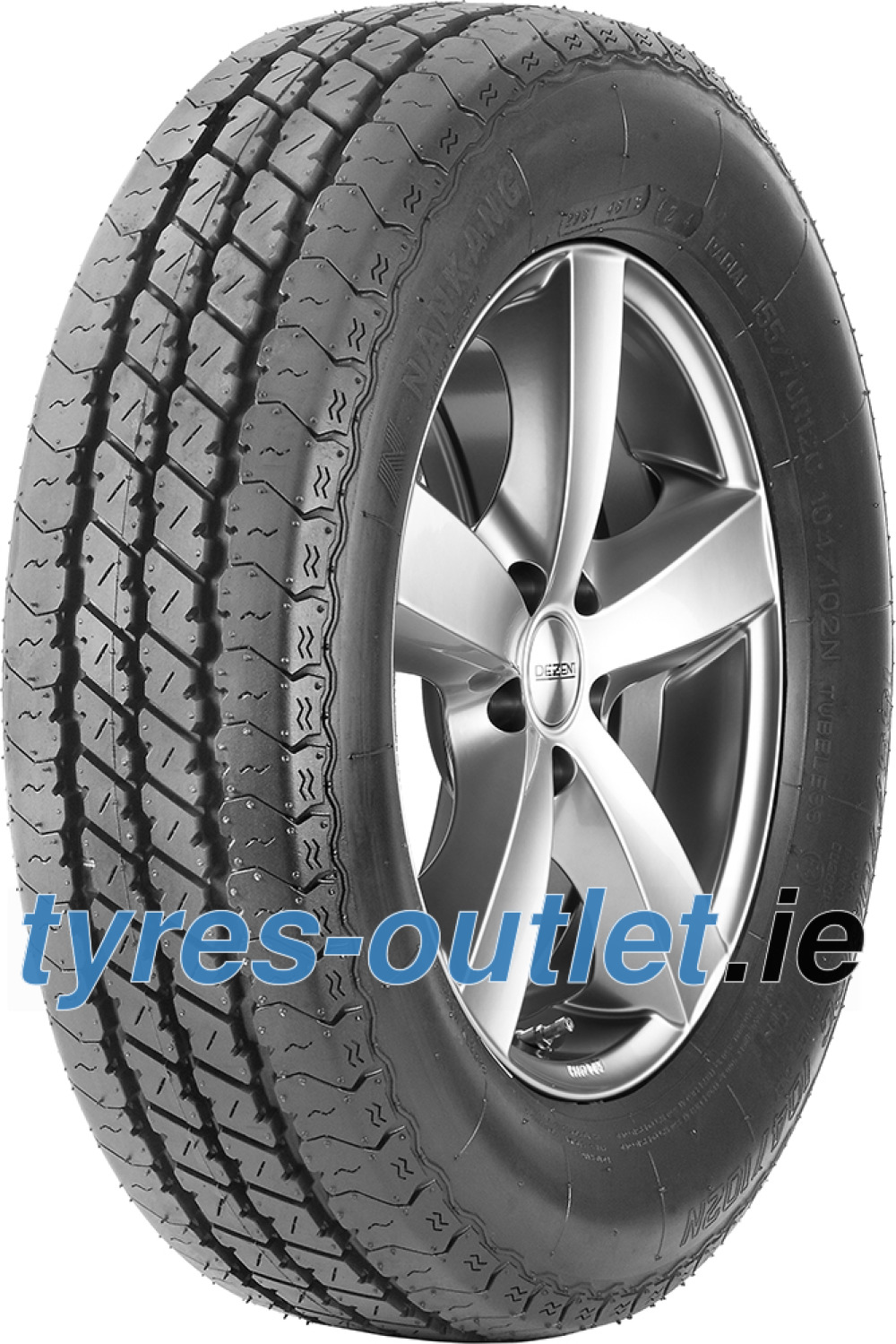 Nankang TR-10 ( 195/50 R13C 104/102N with rim protection (MFS) )