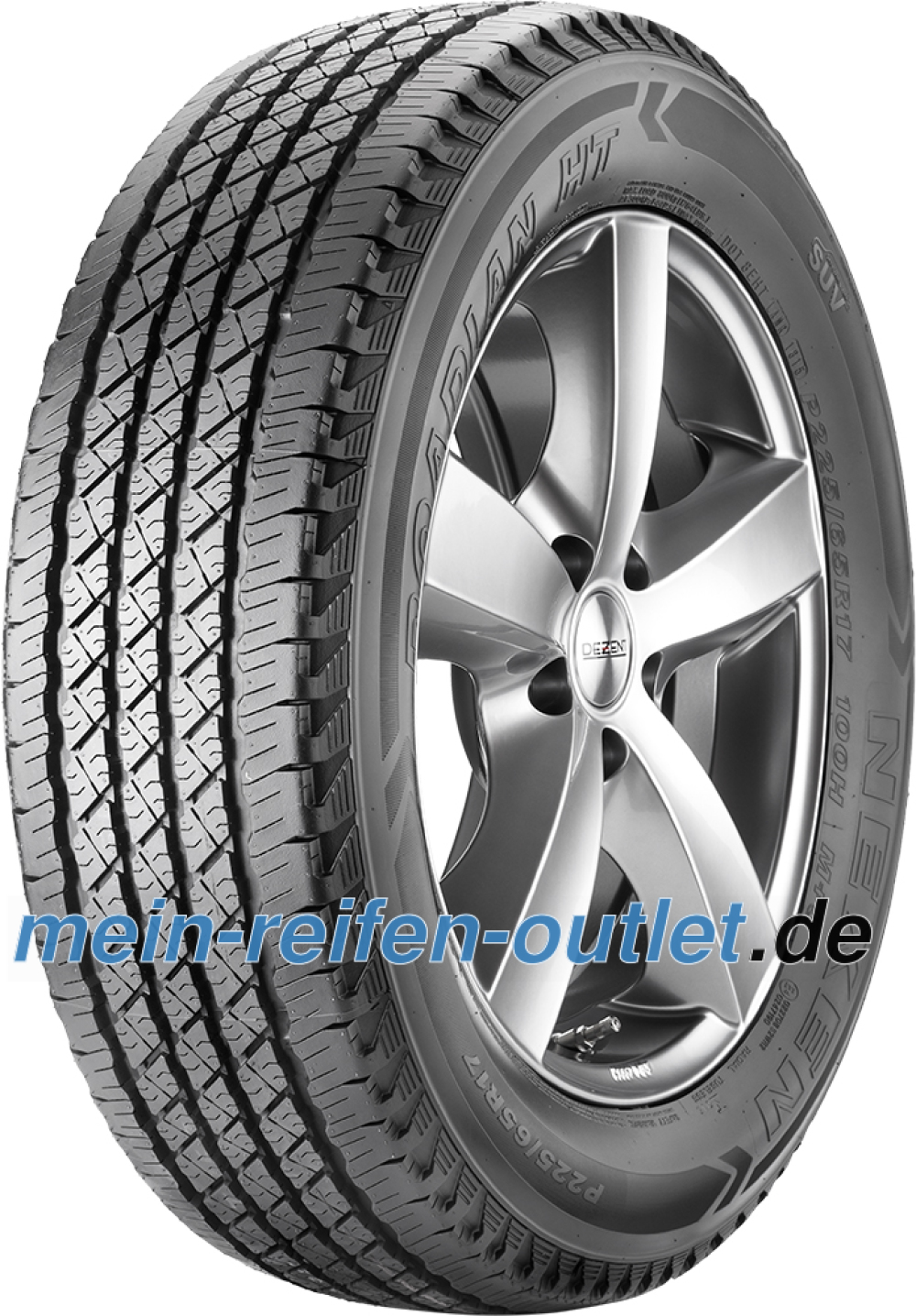 Nexen Roadian HT ( LT31x10.50 R15 109S 6PR ROWL )