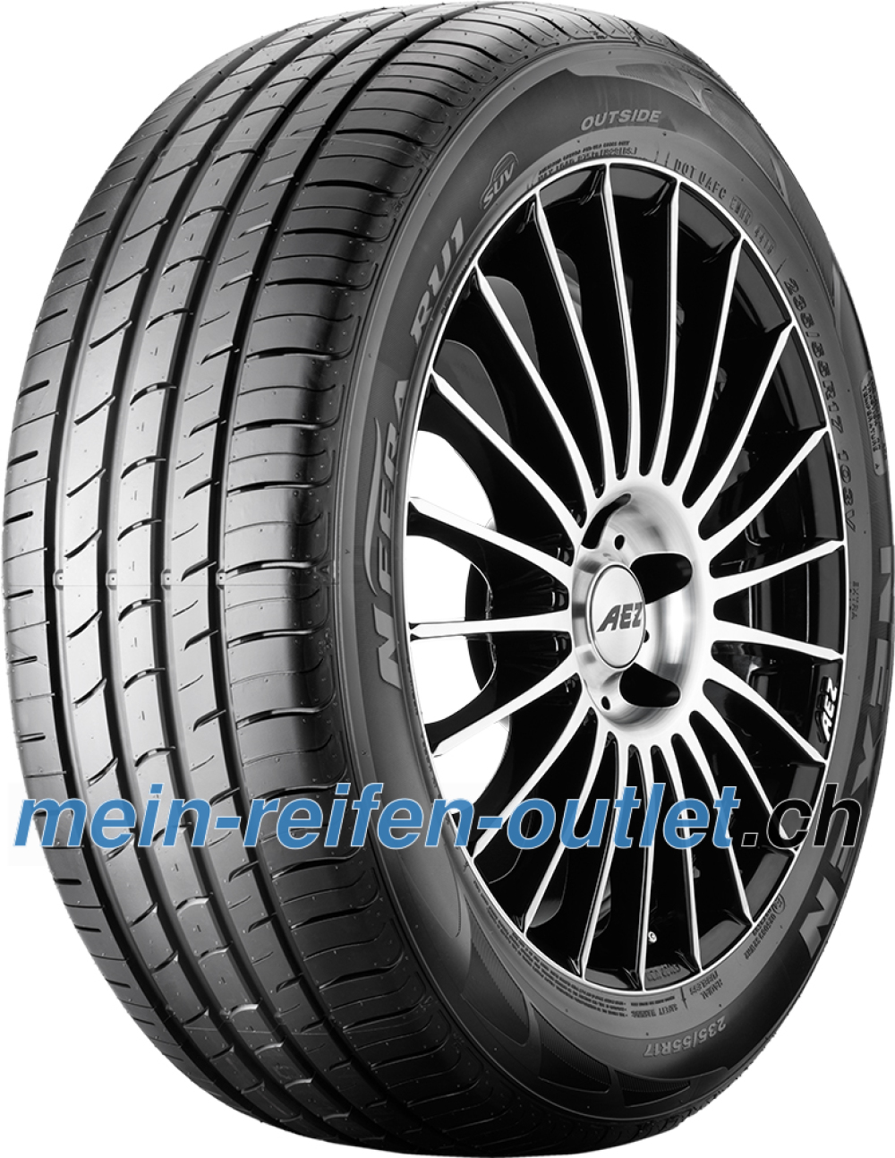 Nexen N Fera RU1 ( 255/60 R17 106V 4PR RPB )