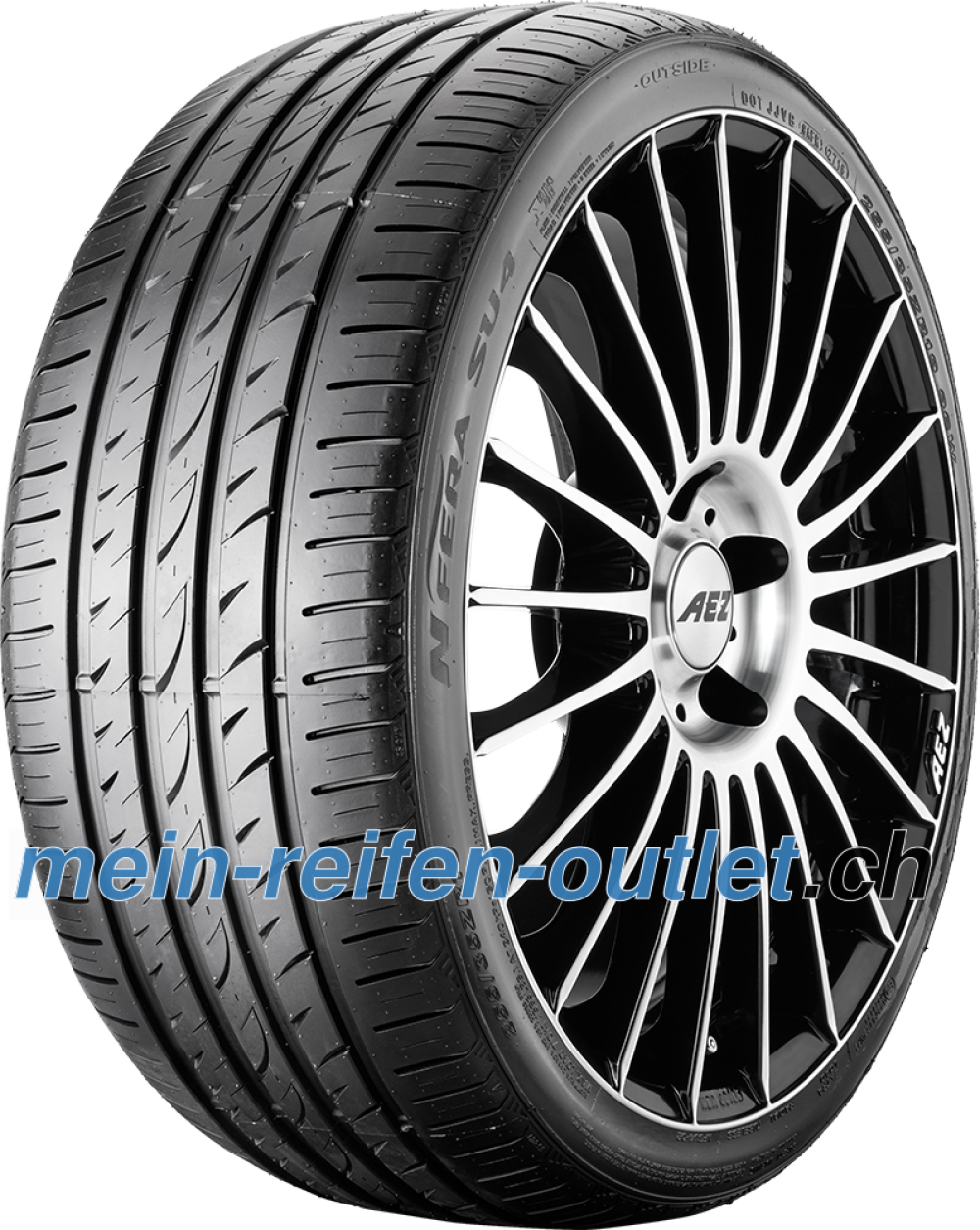 Nexen N Fera SU4 ( 225/45 R17 94W XL )