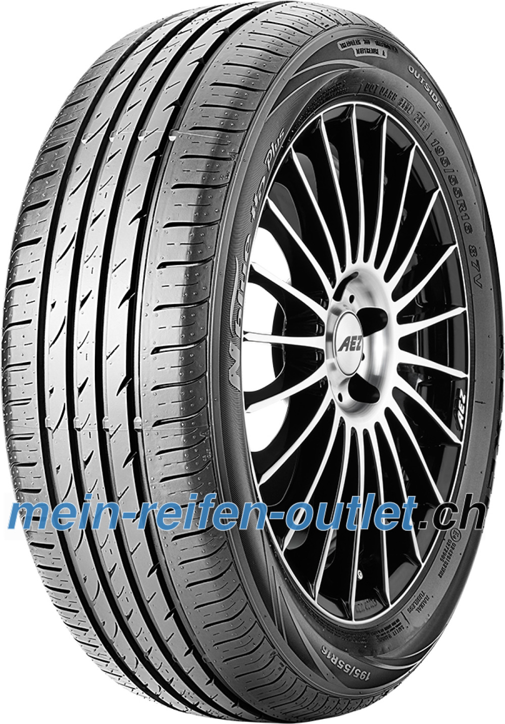 Nexen N blue HD Plus ( 195/55 R15 85V 4PR )