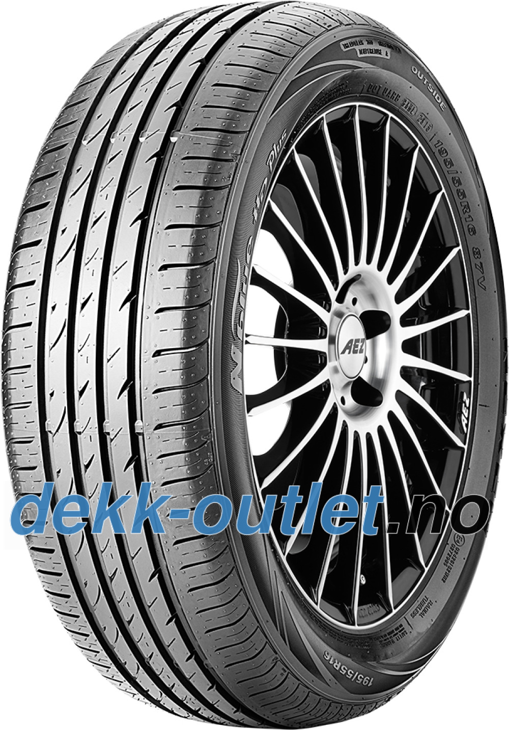 Nexen N blue HD Plus ( 205/50 R16 87V 4PR )