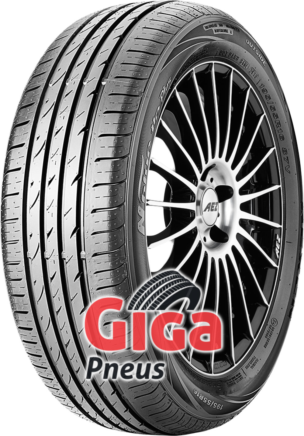 Nexen N blue HD Plus ( 195/50 R15 82V 4PR RPB )