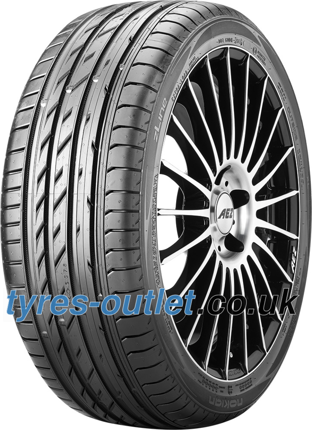 Nokian zLine ( 245/40 ZR17 95Y XL with rim protection (MFS) )