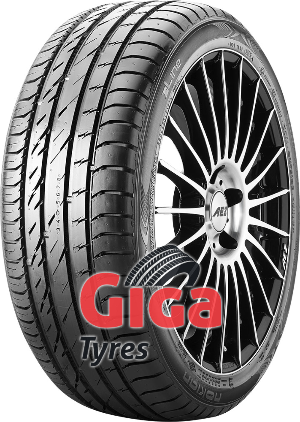 Nokian Line ( 215/45 R16 90V XL with rim protection (MFS) )