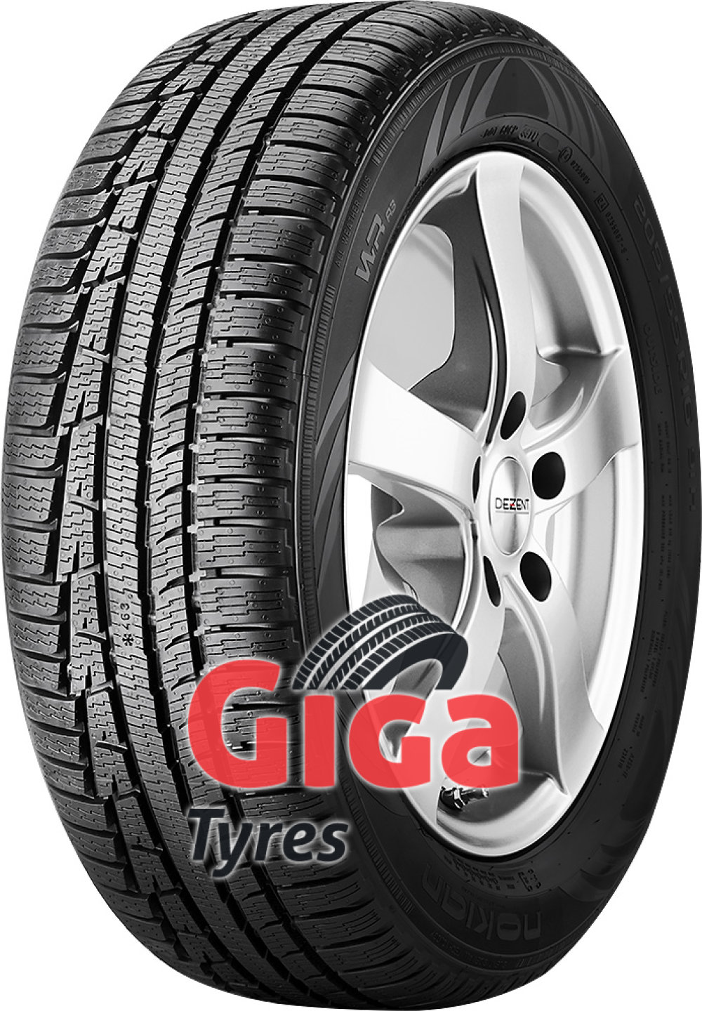 Nokian WR A3 ( 255/35 R19 96V XL , with rim protection (MFS) )
