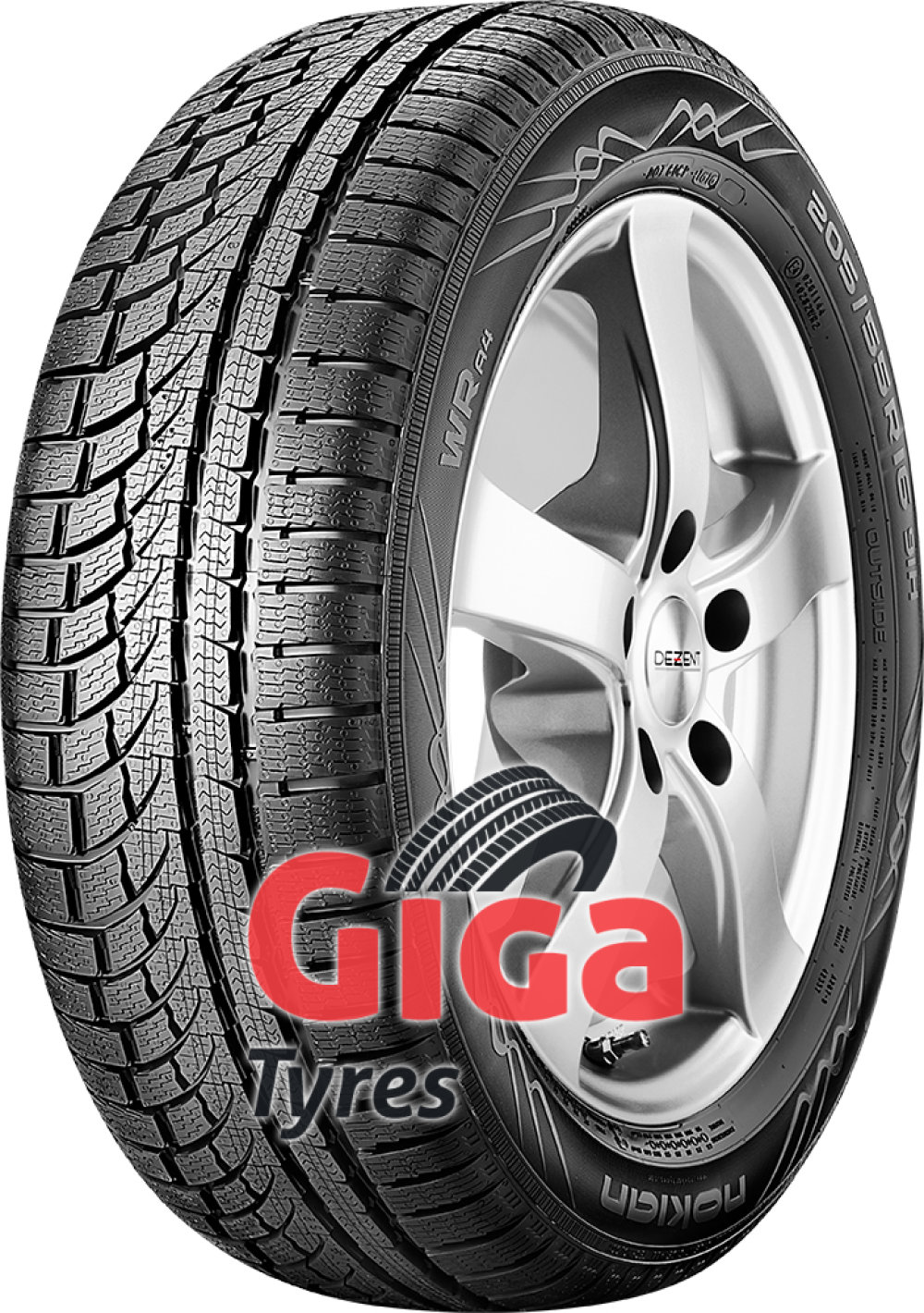 Nokian WR A4 ( 225/40 R19 93V XL , with rim protection (MFS) )