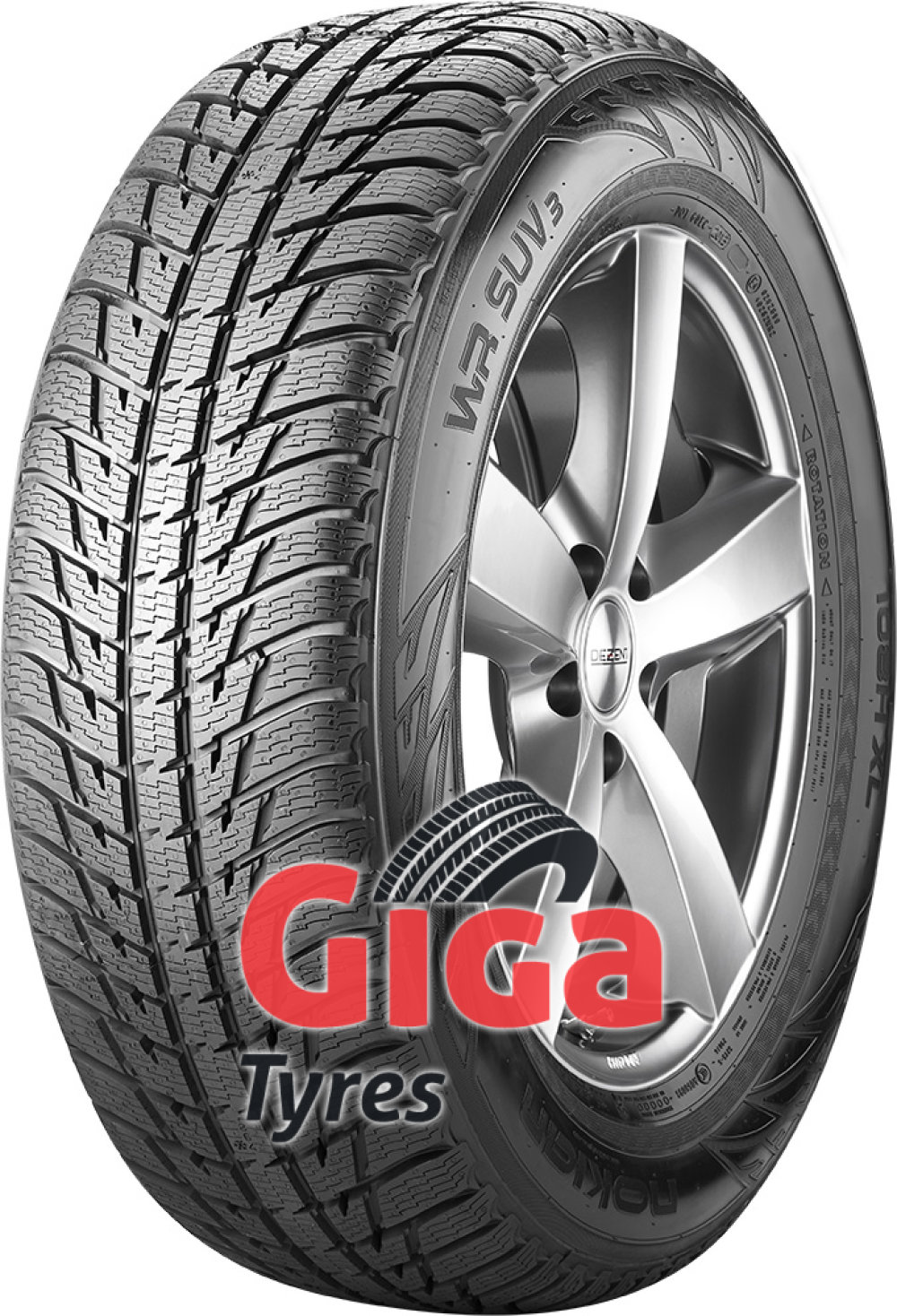 Nokian WR SUV 3 ( 255/45 R20 105V XL , with rim protection (MFS) )