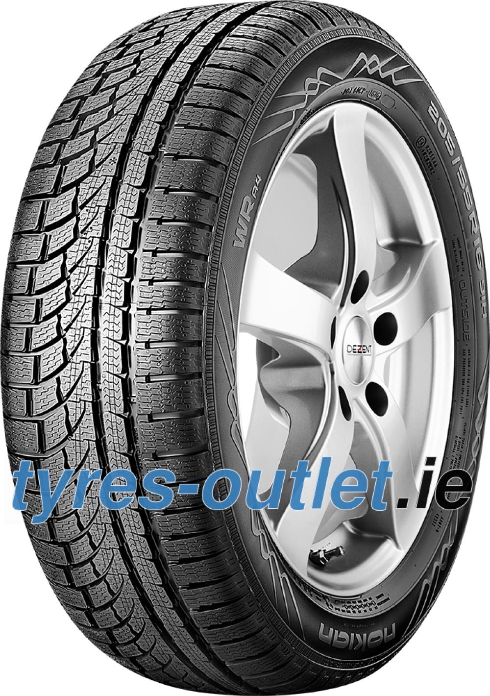 Nokian WR A4 ( 255/35 R19 96V XL , with rim protection (MFS) )
