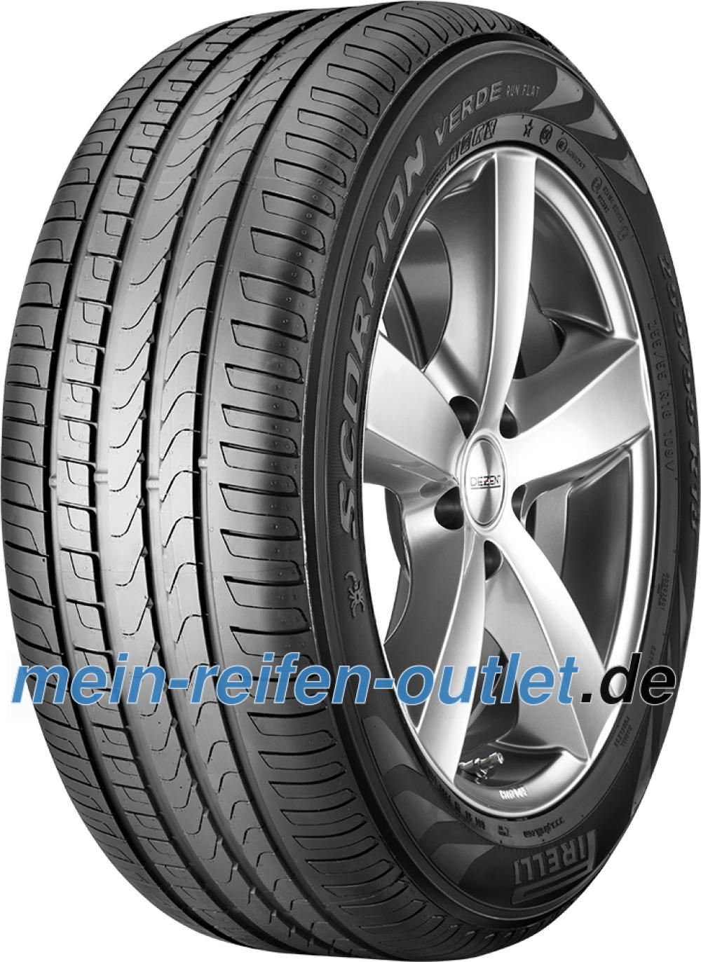 Pirelli Scorpion Verde runflat ( 255/55 R18 109V XL *, ECOIMPACT, mit Felgenschutz (MFS), runflat )