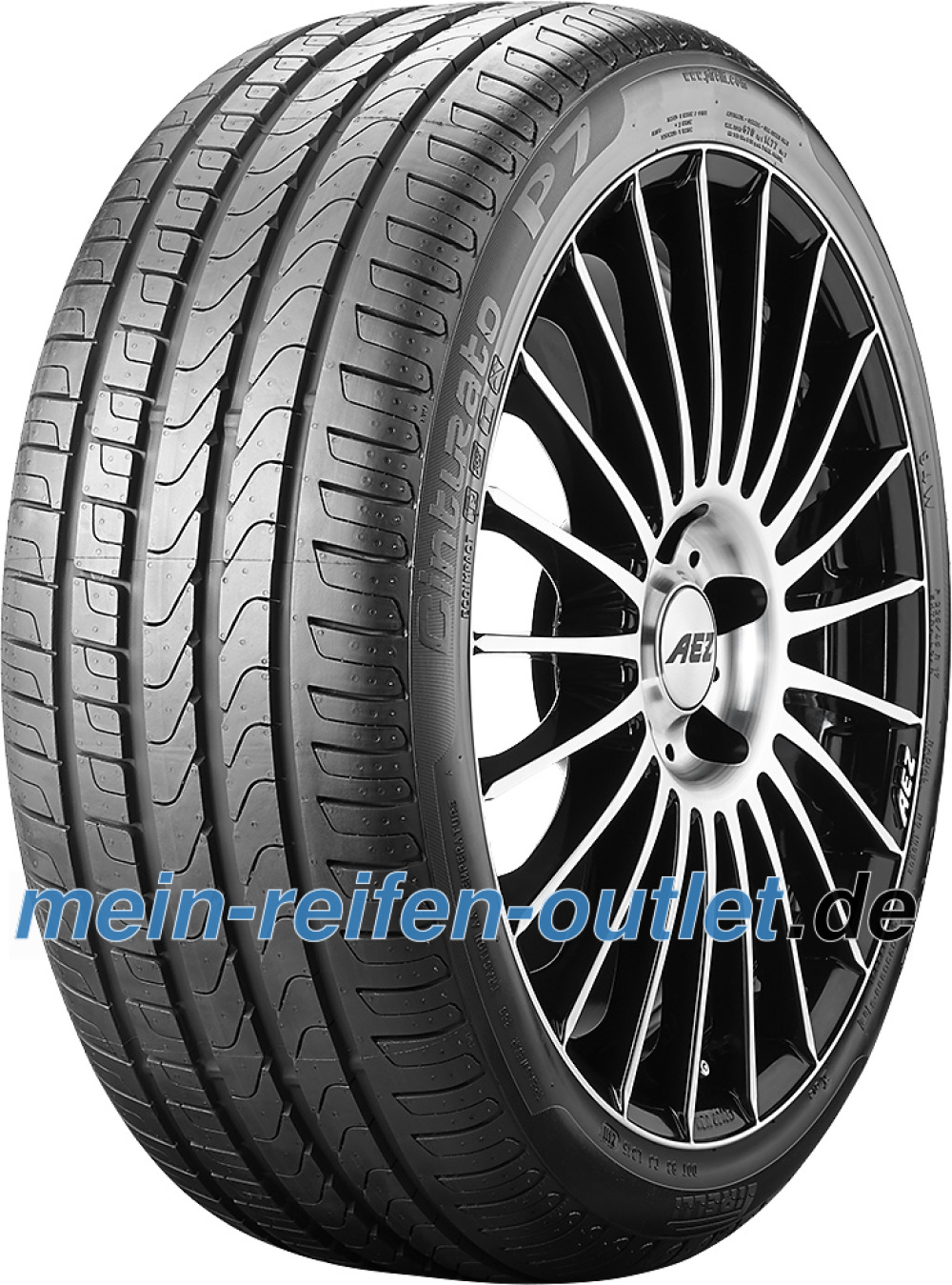 Pirelli Cinturato P7 ( 225/50 R16 92W ECOIMPACT, MO, mit Felgenschutz (MFS) )