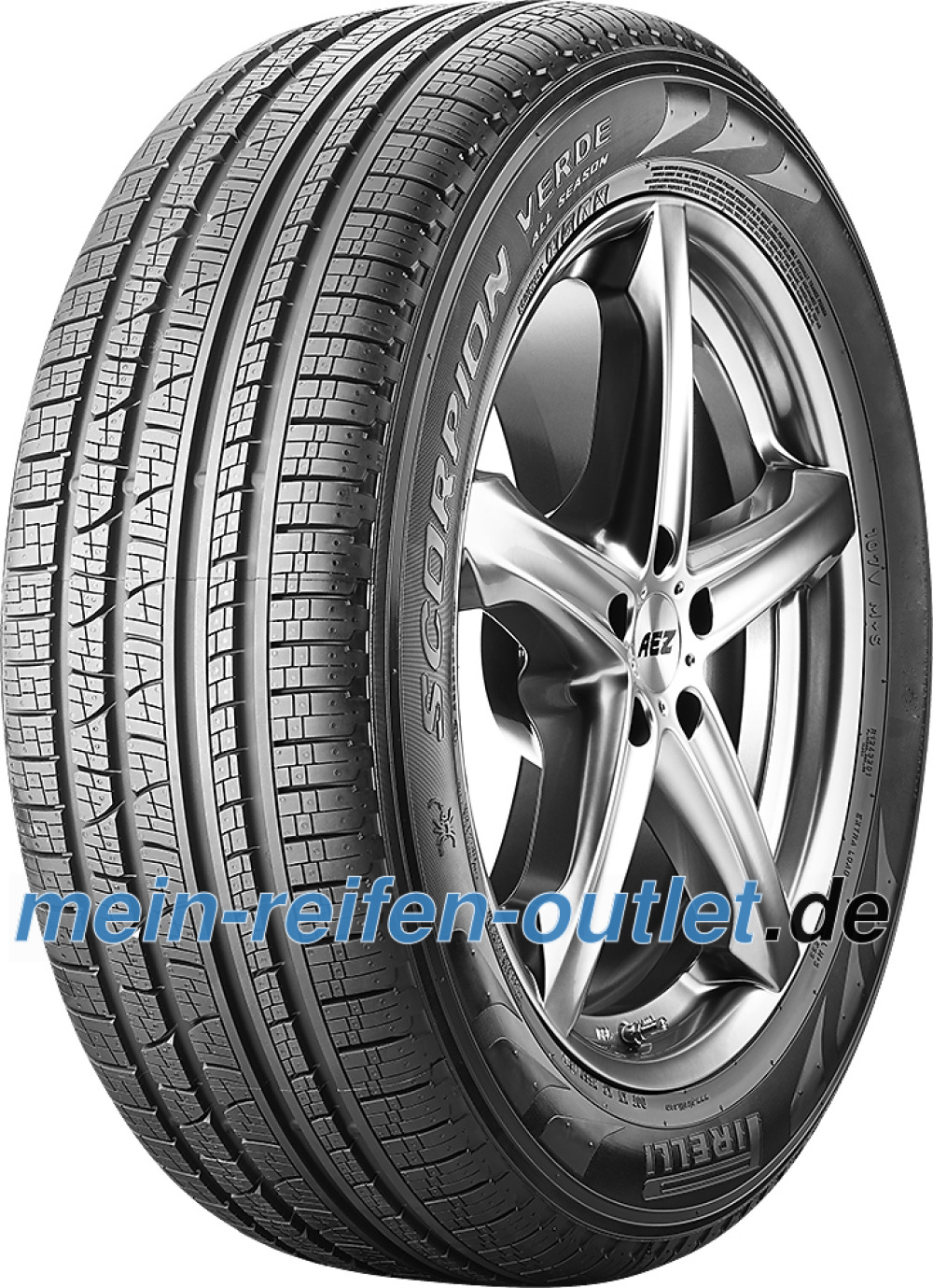 Pirelli Scorpion Verde All-Season ( 255/55 R20 110Y XL , LR, ECOIMPACT, mit Felgenschutz (MFS) )