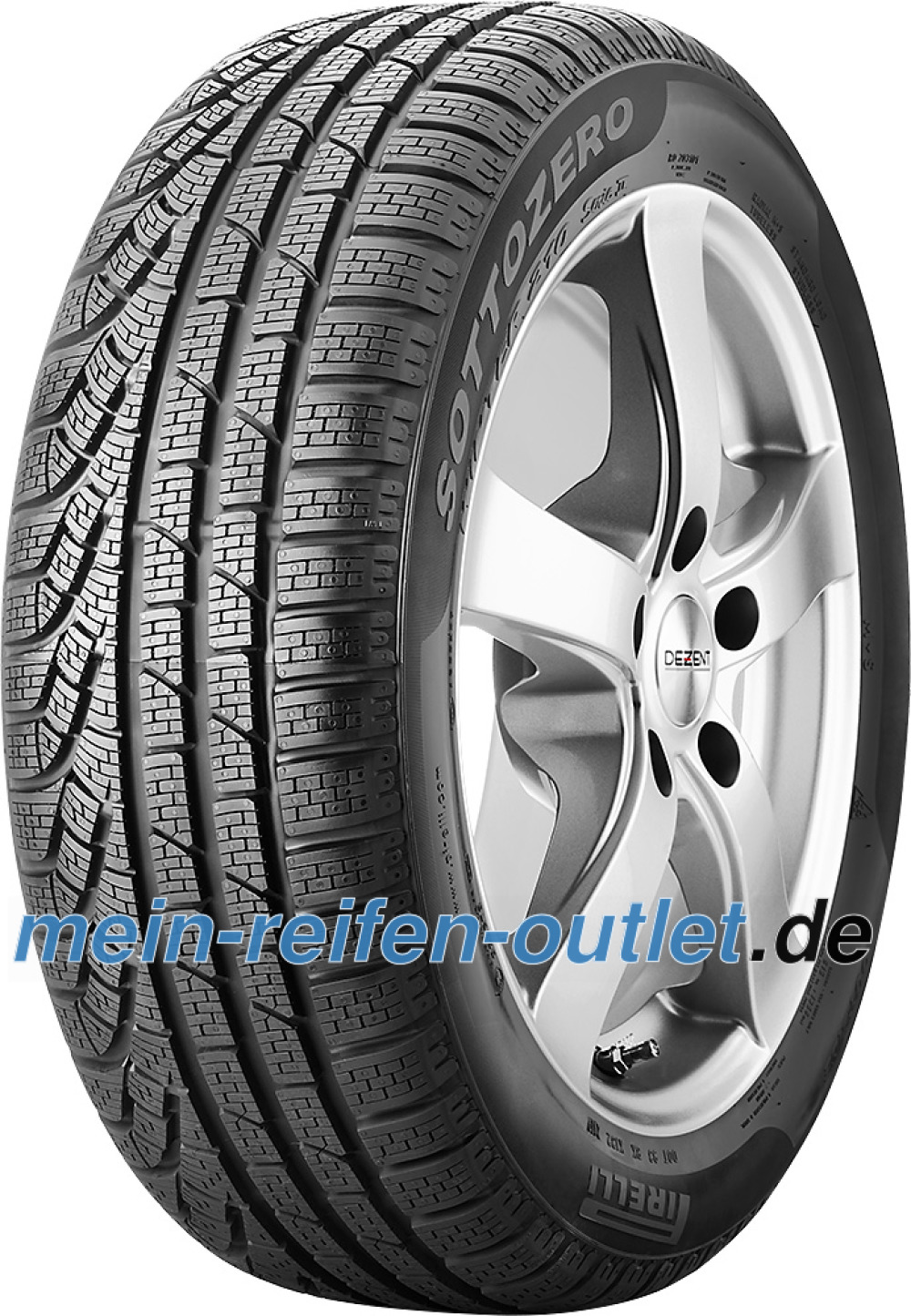 Pirelli W 210 SottoZero S2 runflat ( 205/55 R17 91H *, runflat )
