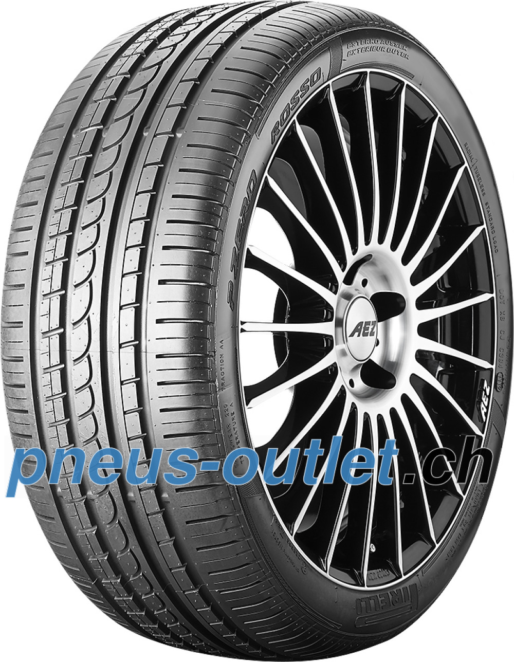 Pirelli P Zero Rosso Asimmetrico ( 225/50 ZR16 (92Y) N4 )
