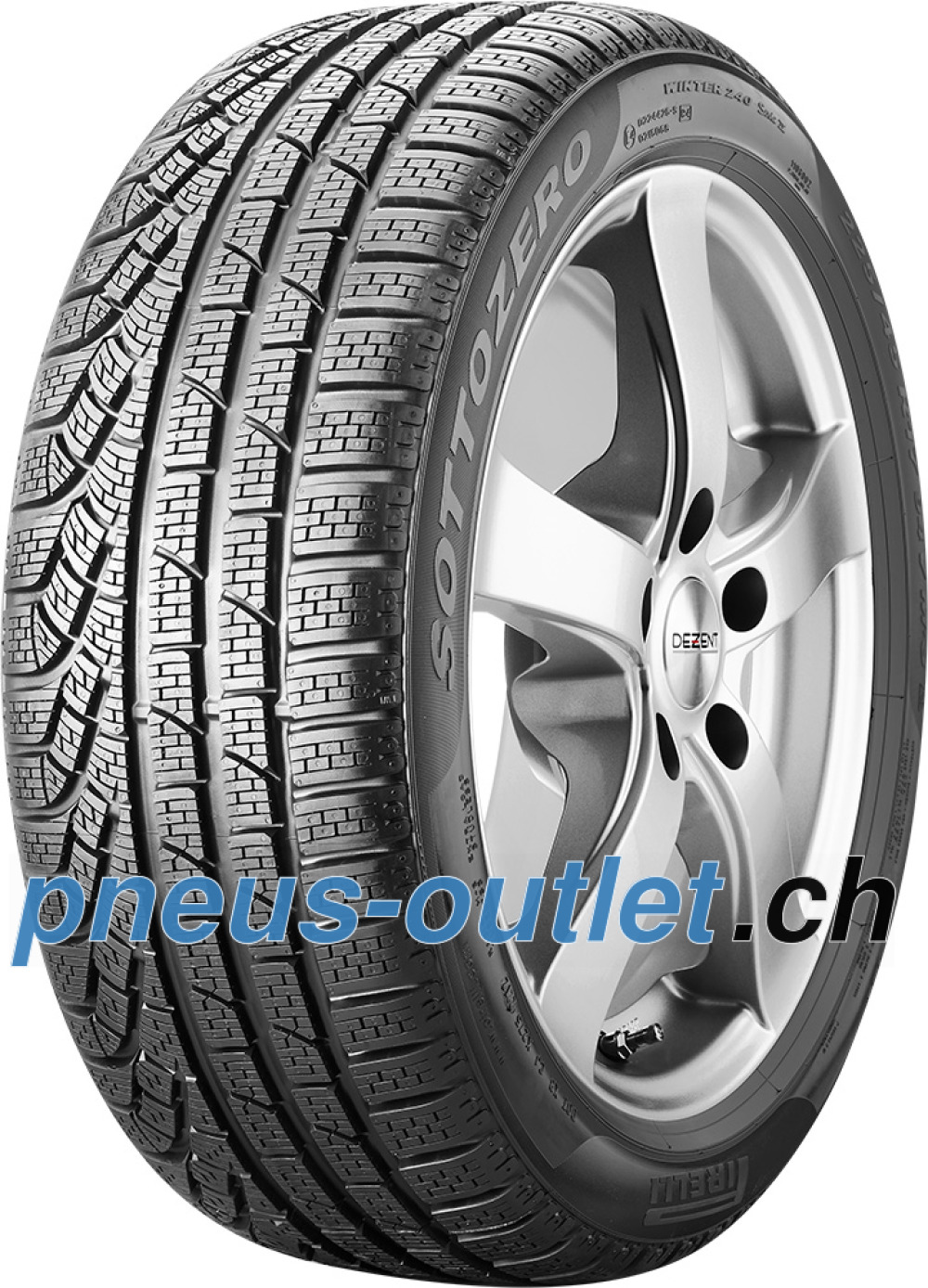 Pirelli W 240 SottoZero ( 255/40 R19 100V XL MO, avec protège-jante (MFS) )