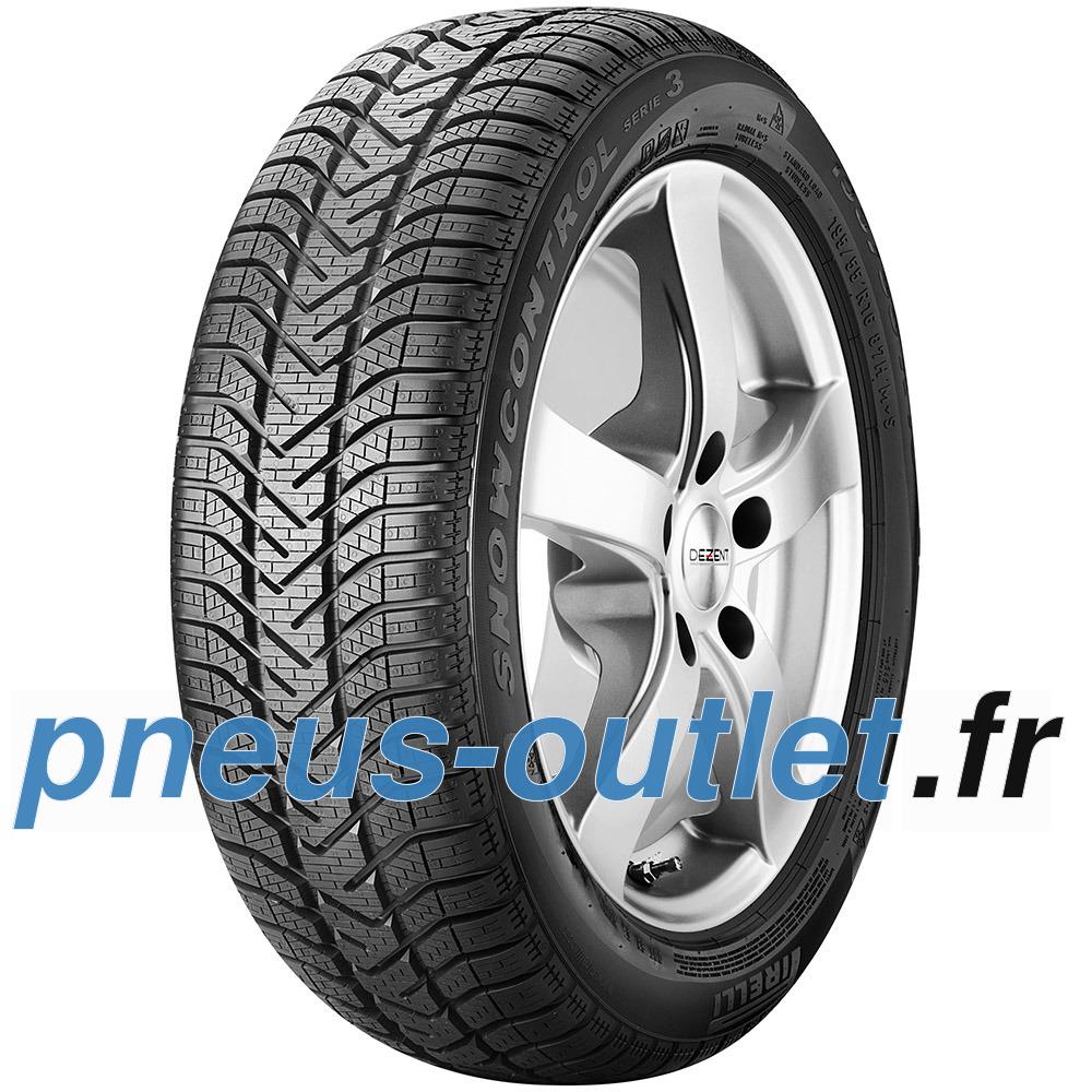 Pirelli W 210 Snowcontrol S3 runflat ( 195/55 R16 87H *, ECOIMPACT, avec protège-jante (MFS), runflat )
