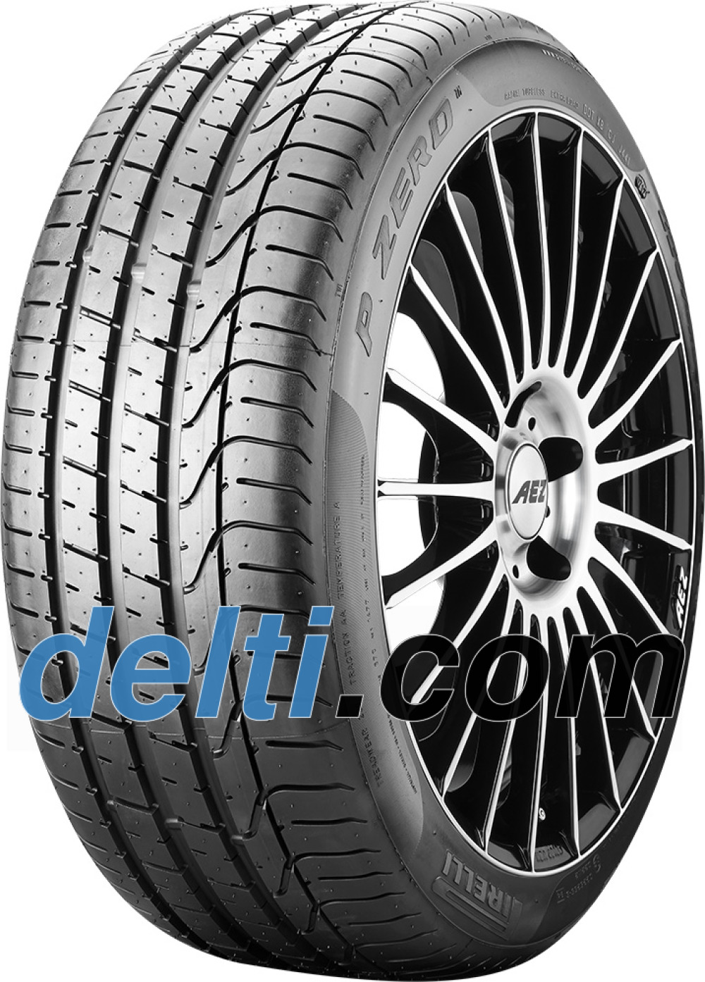 Pirelli P Zero ( 285/30 ZR21 (100Y) XL PNCS, RO1, med felgbeskyttelse (MFS) )